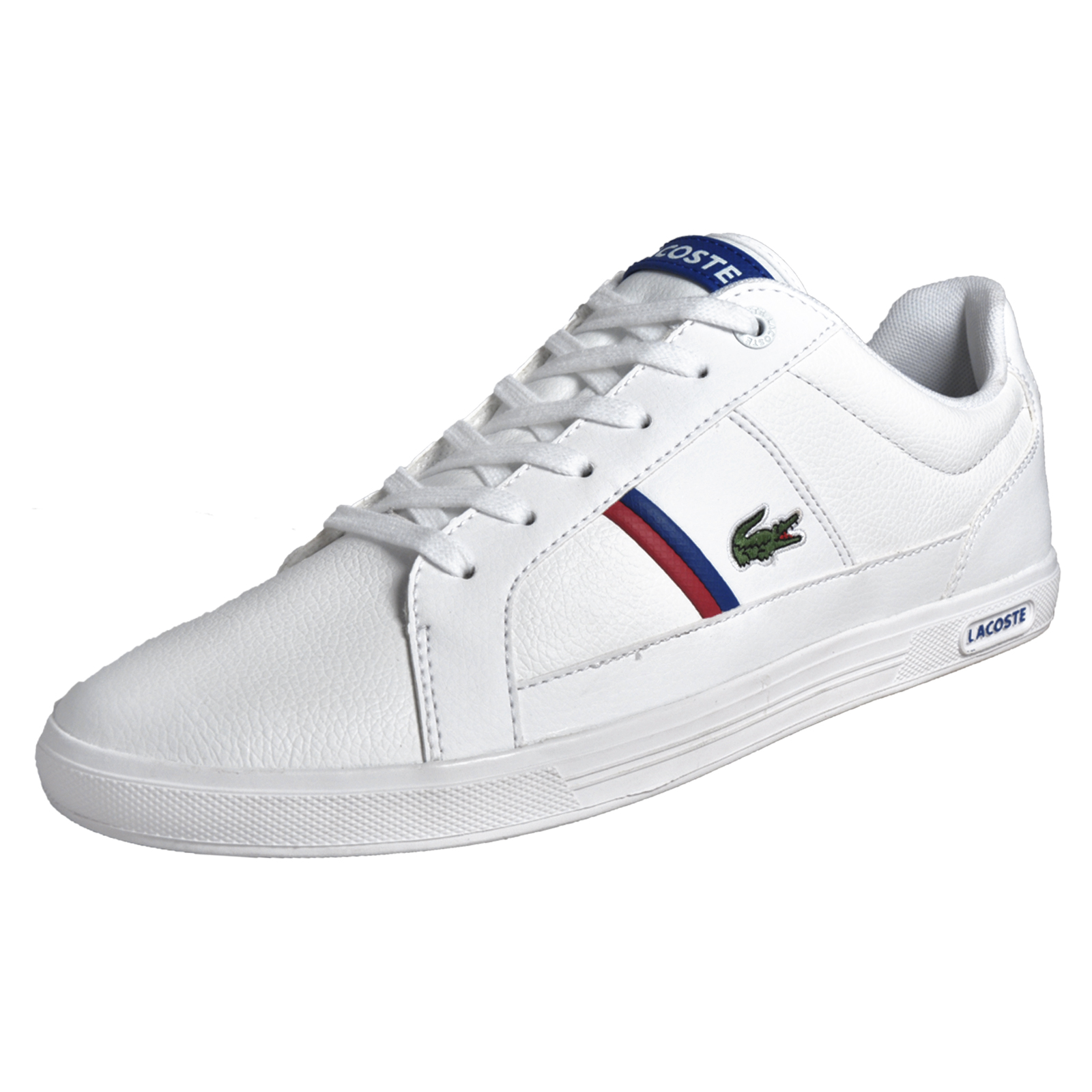 30f79ab20 Details about Lacoste Europa TCL Mens Classic Casual Designer Leather  Trainers White