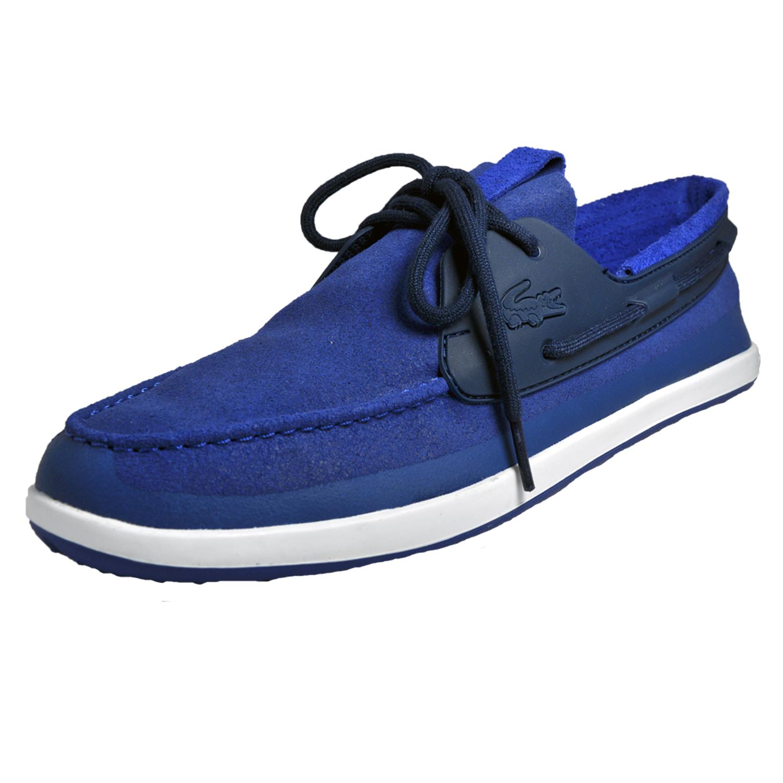 595b4984e Details about Lacoste Landsailing 316 Mens Classic Casual Designer Boat  Shoes Blue