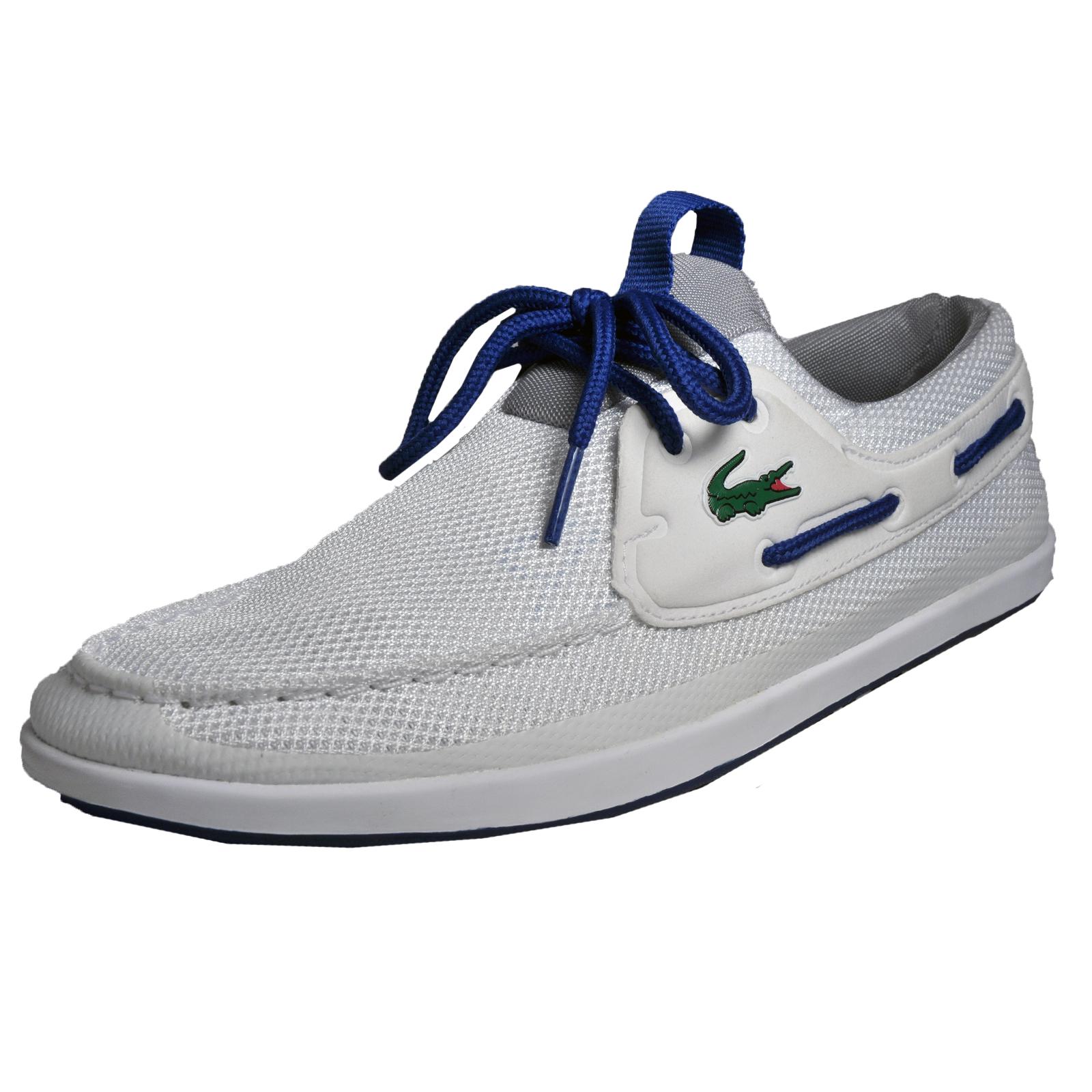 5b1c258d1 Details about Lacoste Landsailing 117 Mens Classic Casual Designer Boat  Shoes White