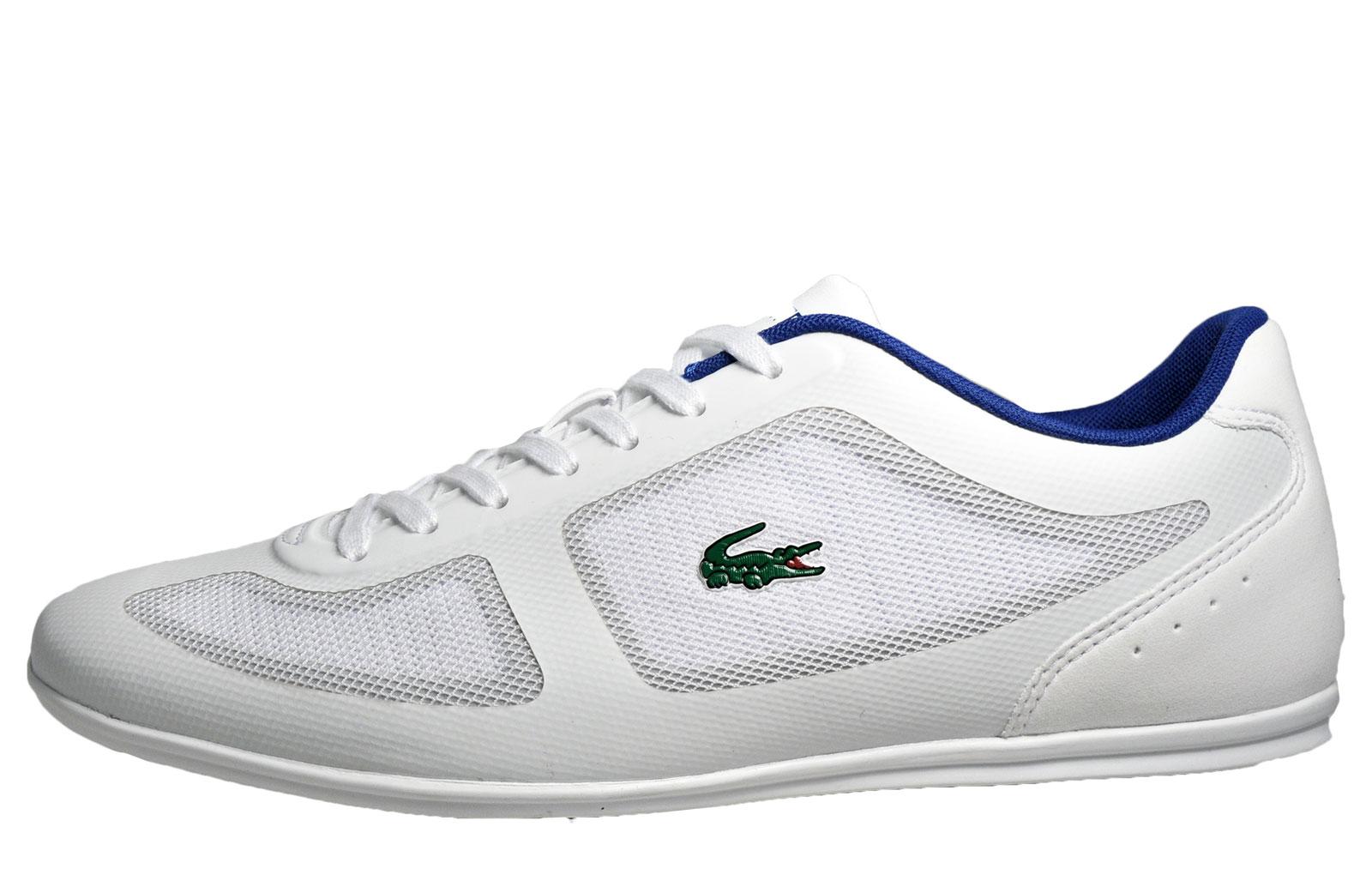 3de877fd1 Lacoste Misano 33 Mens Trainers Mens Trainers Shop Mens Trainers COLOUR-off  white