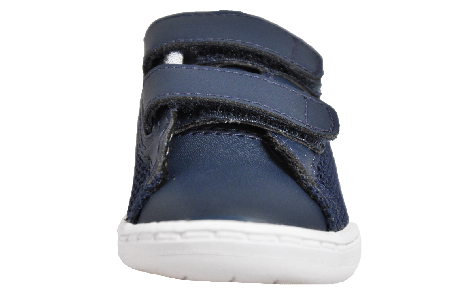 eeef7c7d8 Lacoste Carnaby Evo 117 Infants Toddlers Classic Retro Designer Trainers  Navy