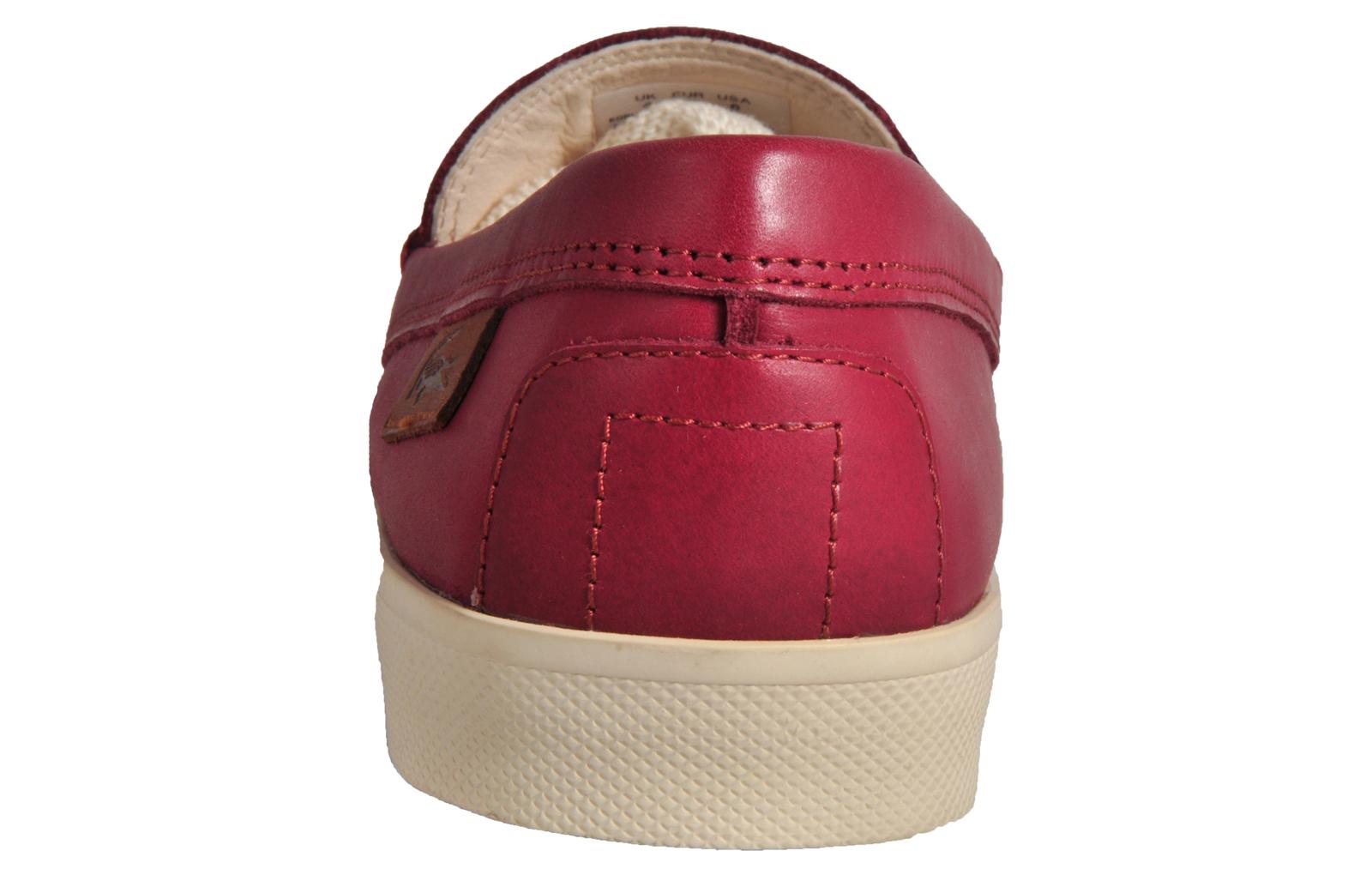 51e7d5d7f614 Lacoste Korlas 3 Women s Premium Leather Moccasin Loafer Burgundy