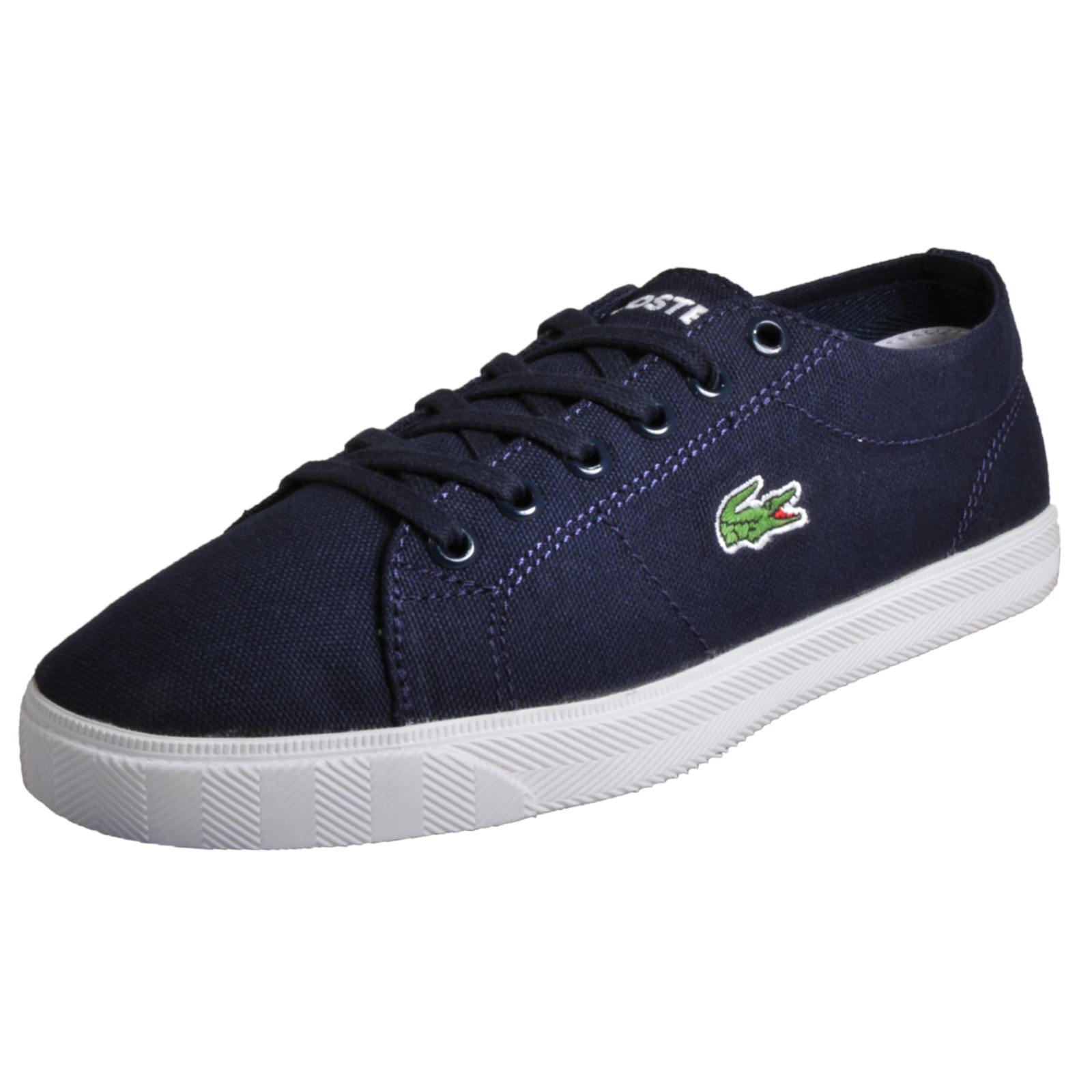 dbd3c5bc8 Details about Lacoste Riberac Women s Causal Pumps Fashion Holiday Plimsol  Trainers Blue