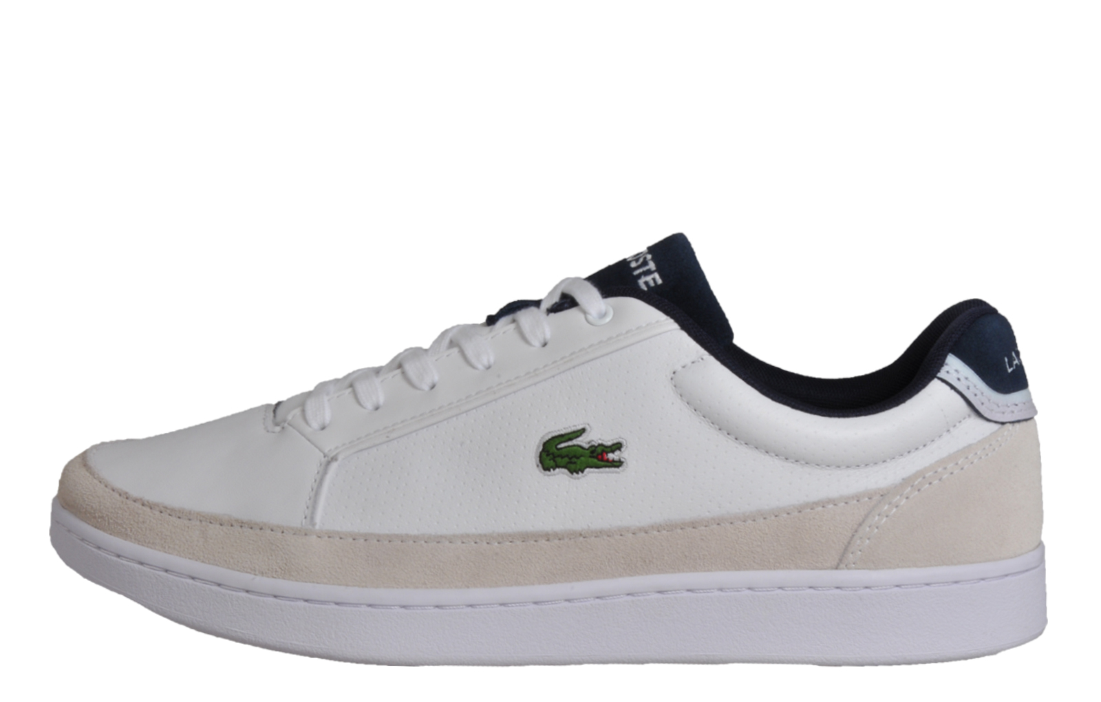 653f8a22c460 Lacoste Setplay 117 Men s Classic Designer Leather Retro Trainers White
