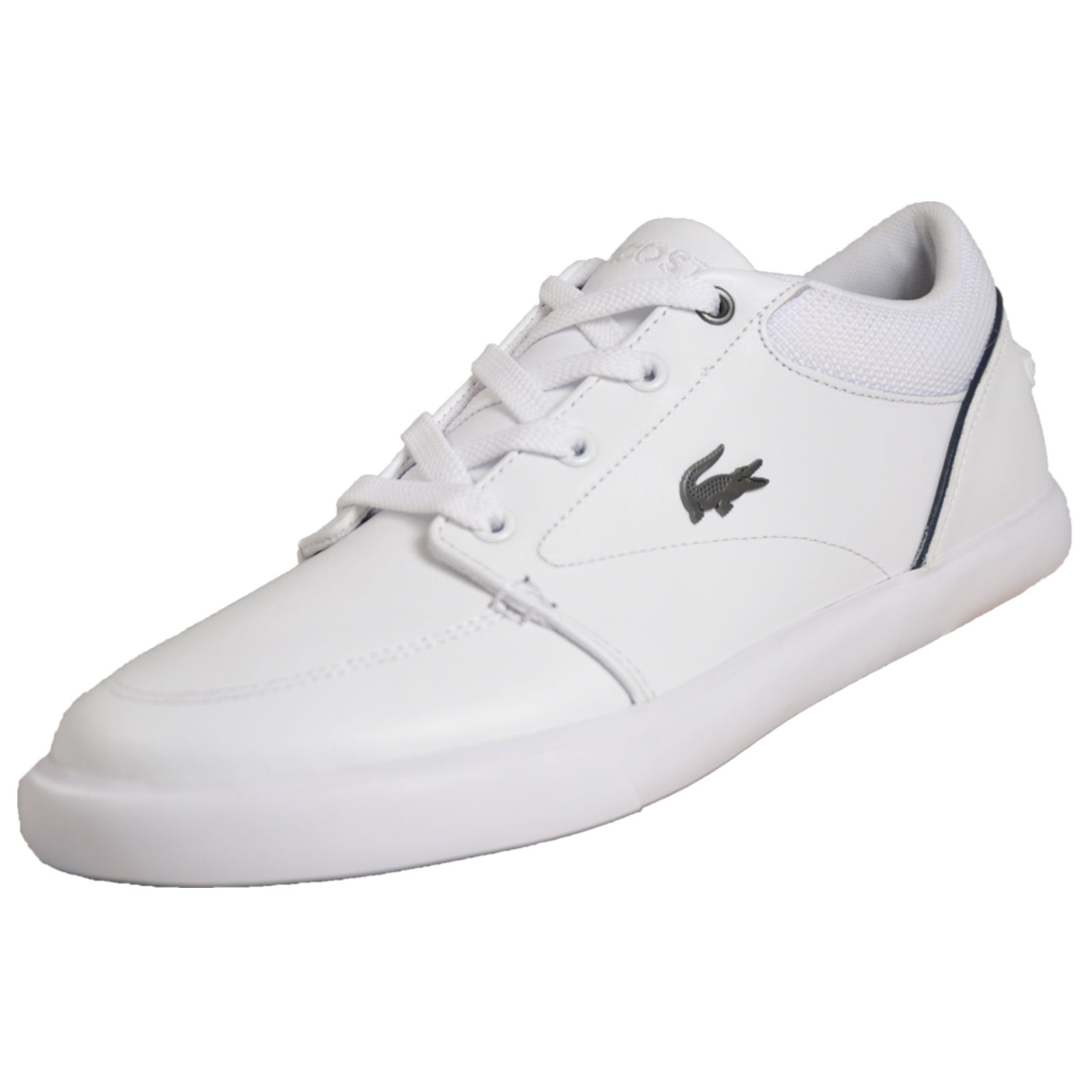 5613b4d967d0 Details about Lacoste Bayliss 318 Mens Classic Retro Vintage Casual Trainers  White B Grade