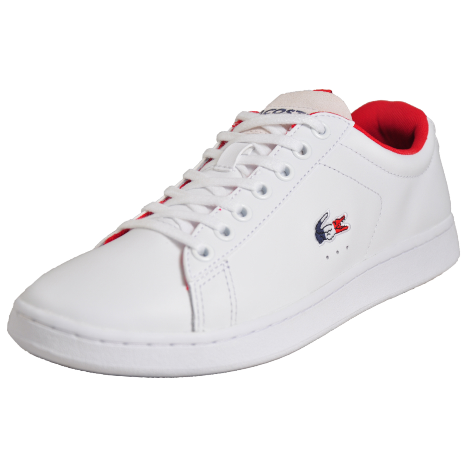 9d98990a0 Details about Lacoste Carnaby Evo Men s Classic Casual Designer Trainers  White B Grade