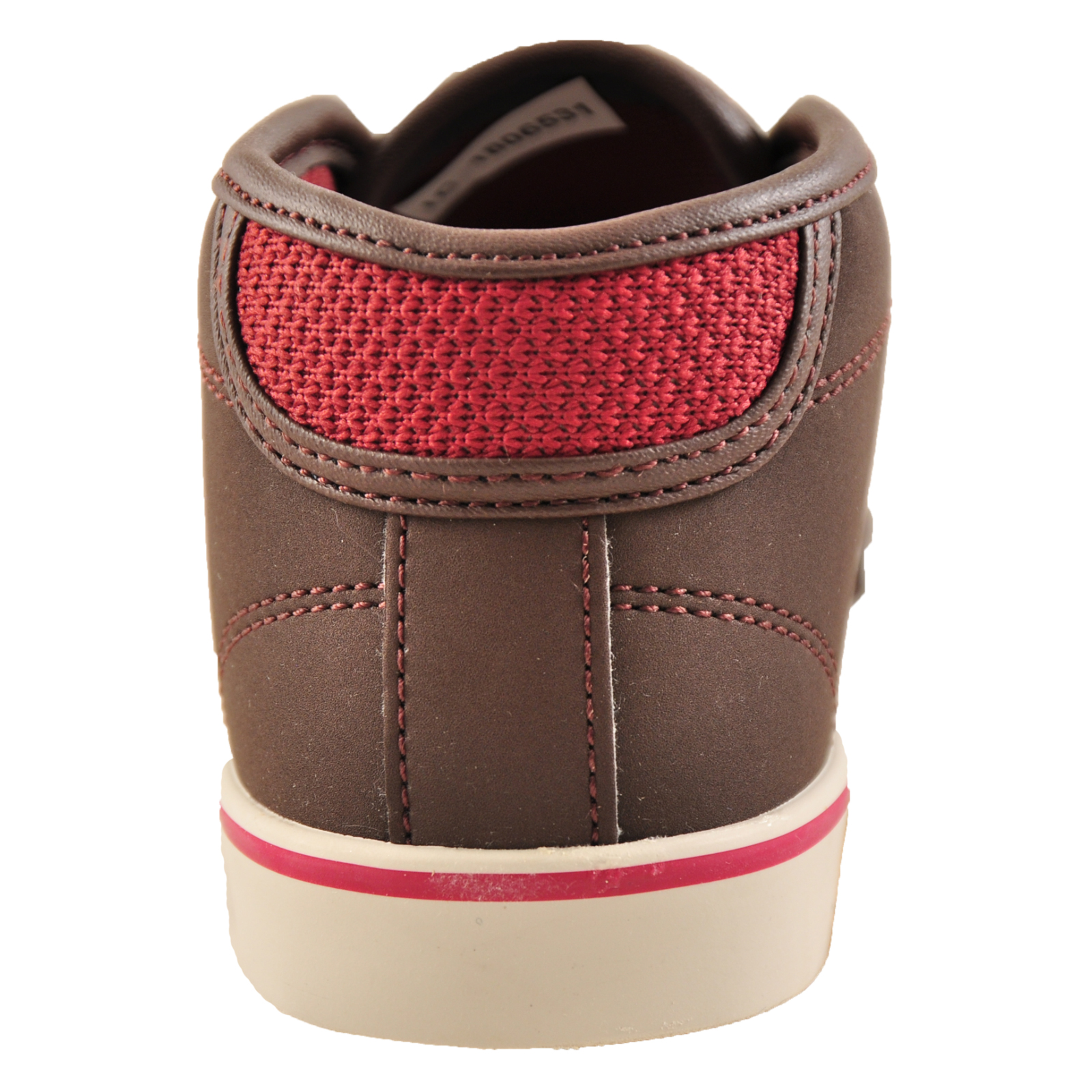 Lacoste Ampthill Junior Kids/' Classic Designer Mid-Top Trainers Brown B Grade