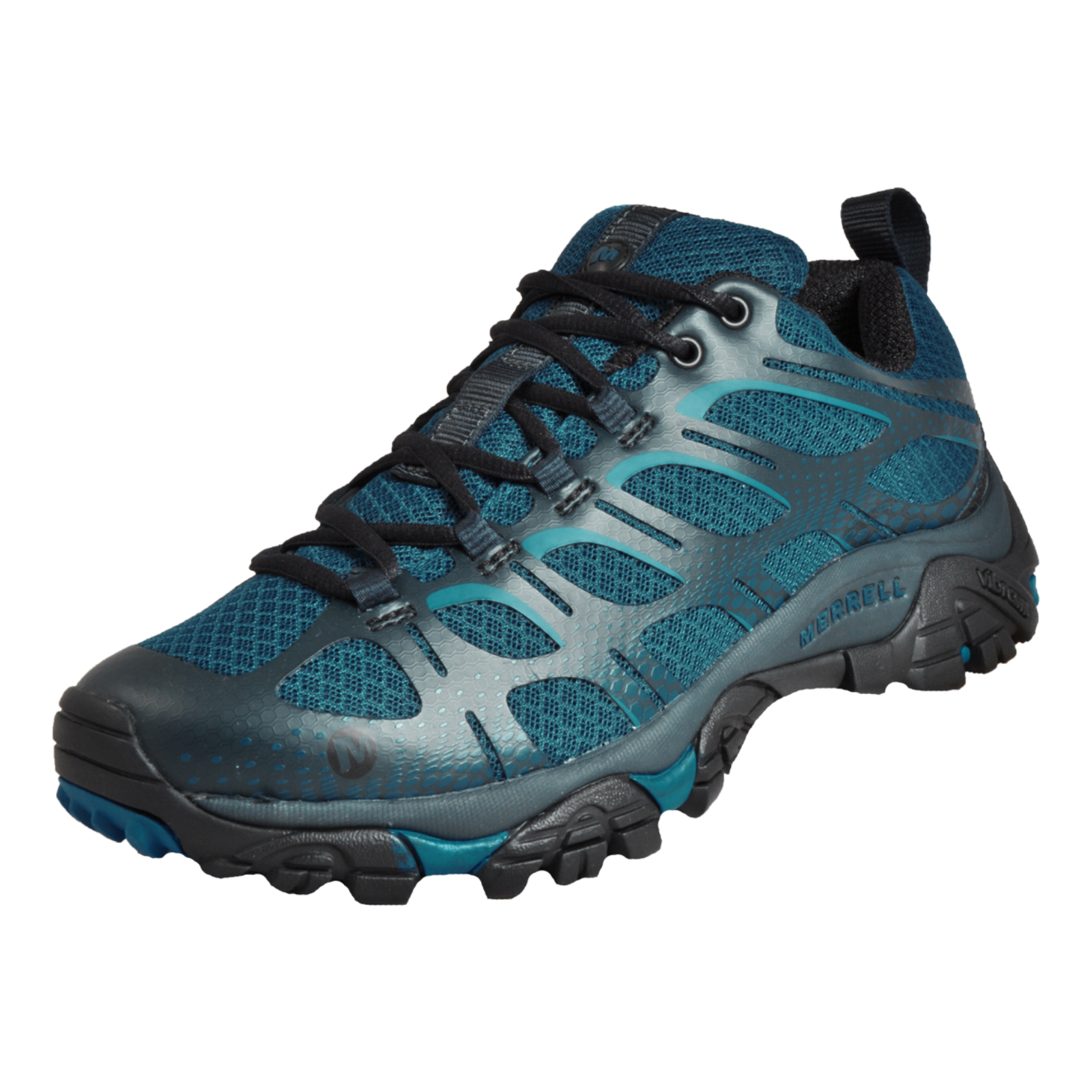 4bb066b785 Details about Merrell Moab Edge All Terrain Men's Outdoor Hiking Walking  Shoes Blue