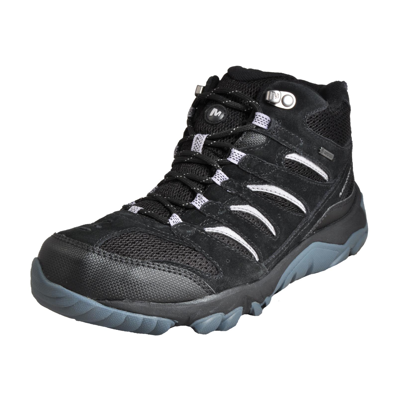 01f88f5afdc5 Merrell White Pine Mid Ventilator Gore-Tex Waterproof Men s Outdoor Hiking  Boots Black