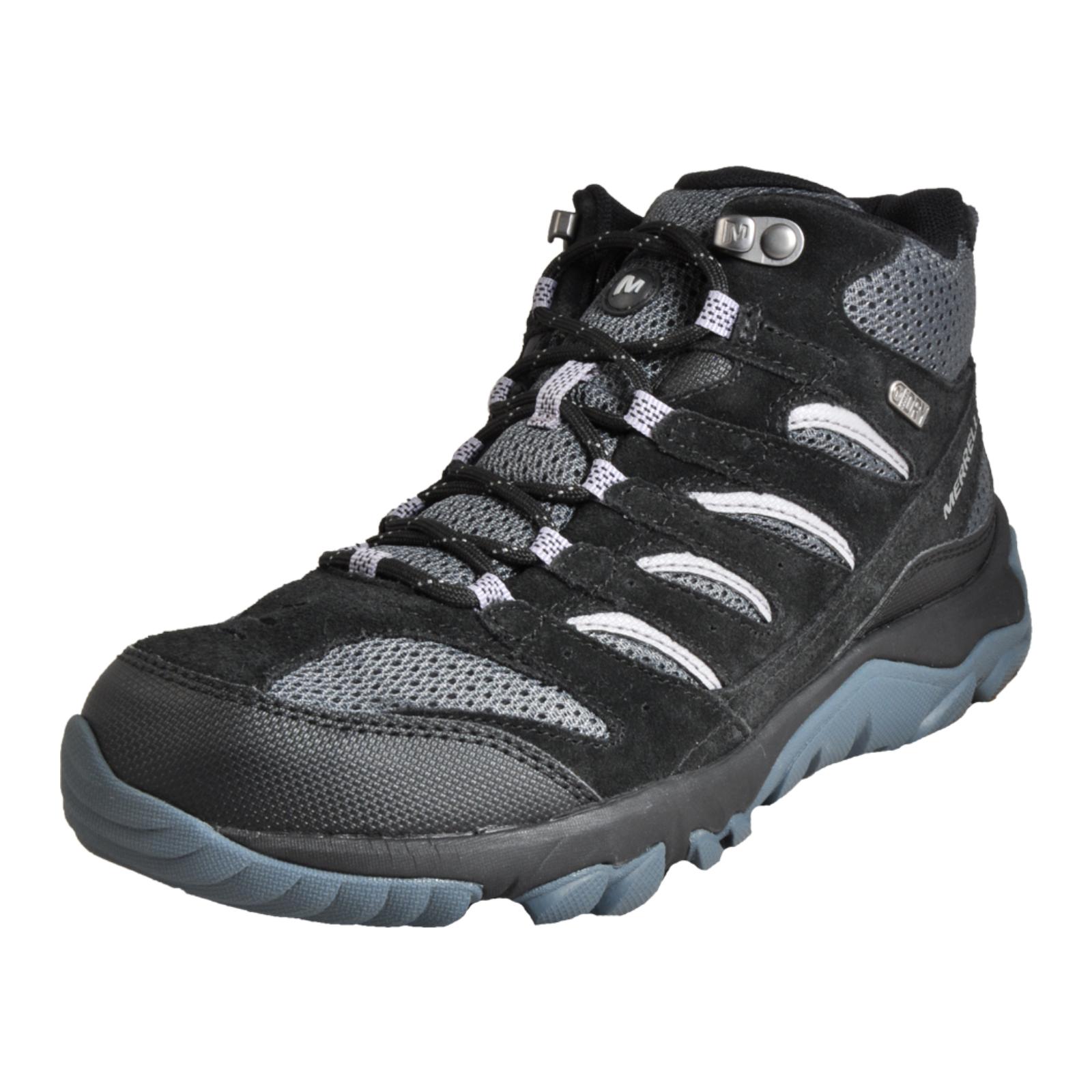53a07a5279d618 Merrell White Pine Mid Ventilator Waterproof Men s Outdoor Hiking Boots  Black