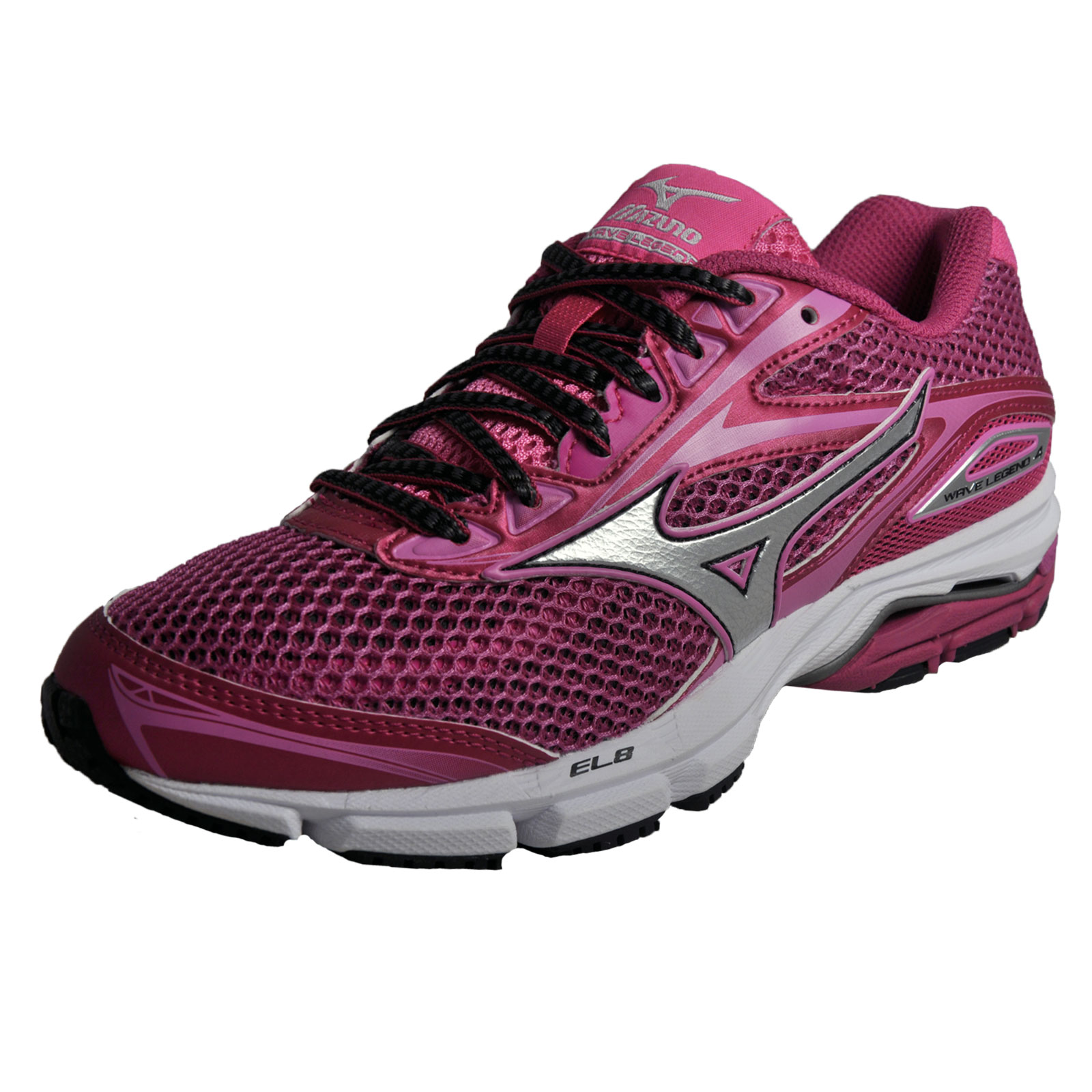 Details about Mizuno Wave Legend 4 Womens Premium Running Shoes Gym Fitness  Trainers Pink cec28b9a808