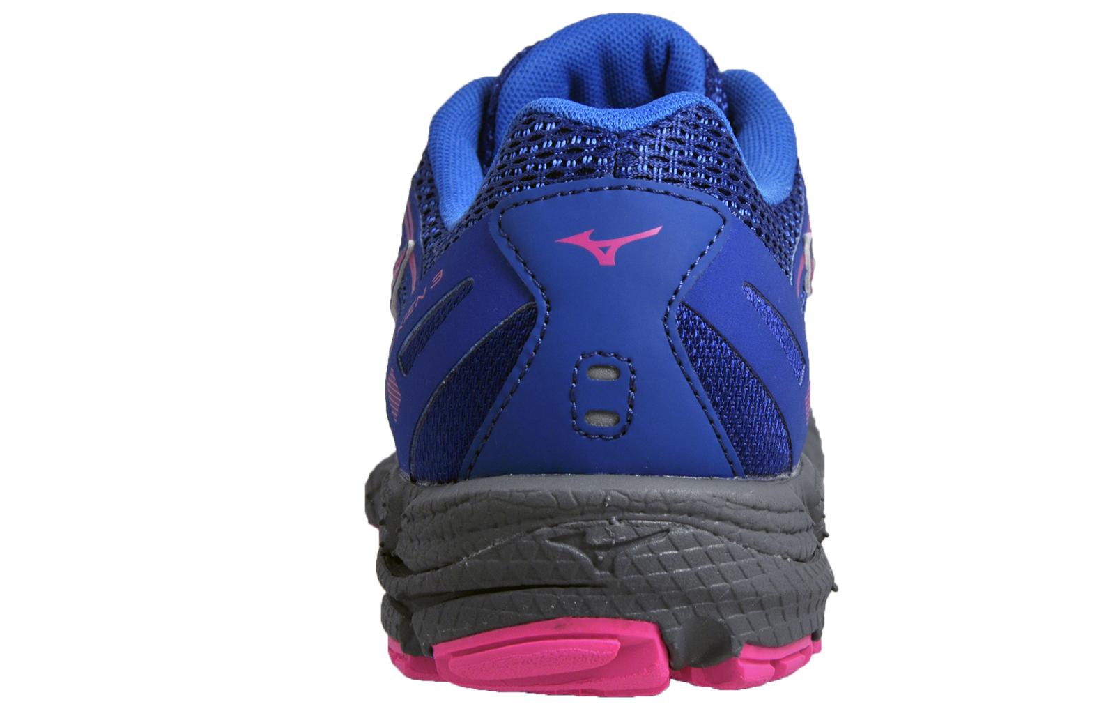 Mizuno Wave Kien 3 Womens All Terrain Trail Running Shoes Trainers Blue c1f56a97df3