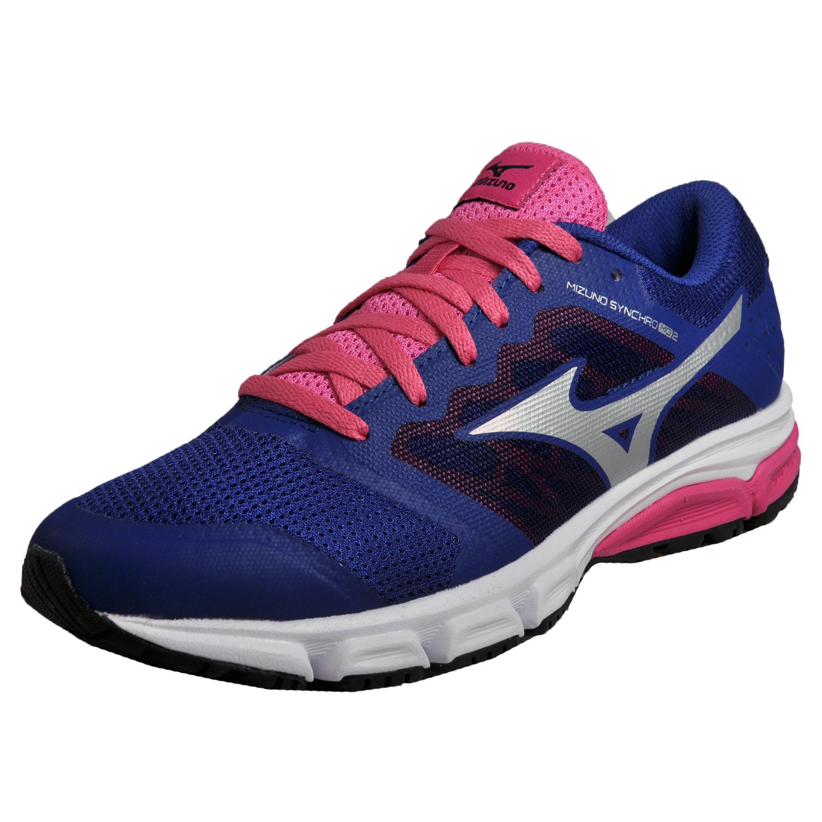 Mizuno Synchro MD 2 Fitness Mujer Running Zapatos Fitness 2 Gym Trainers Azul 6ecaa3