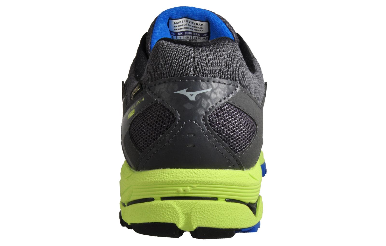 Mizuno Wave Mujin 4 G-TX Men s Gore-Tex Waterproof Trail Running Shoes Grey 7b3fe403874