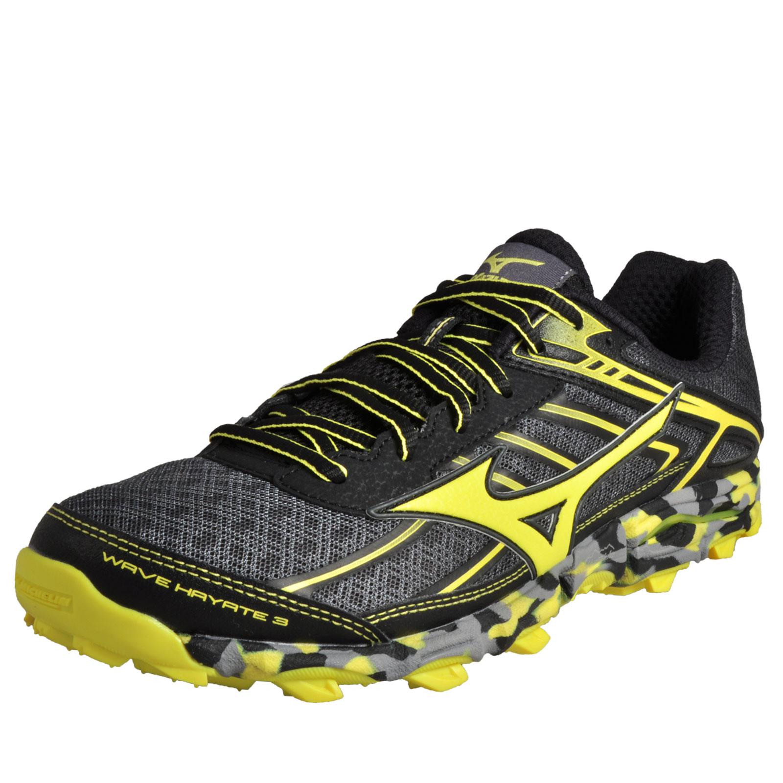 Mizuno Mens Hayate 3 Shoes Wave Trail All Off Running Terrain Road nO0PwX8k