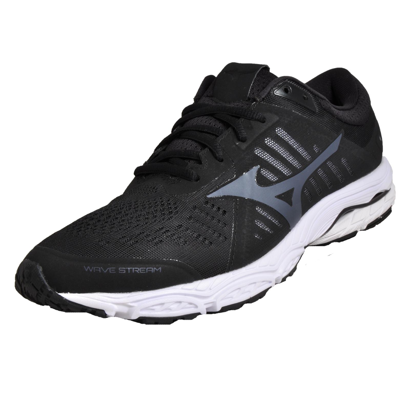 Mizuno Wave Stream Premium High-Performance Men s Running Shoes Black 357a63f949f
