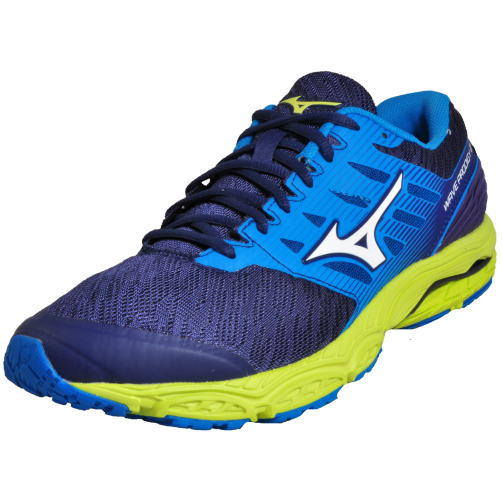 b92bb9256b Details about Mizuno Wave Prodigy 2 Premium High Performance Men s Running  Shoes Navy