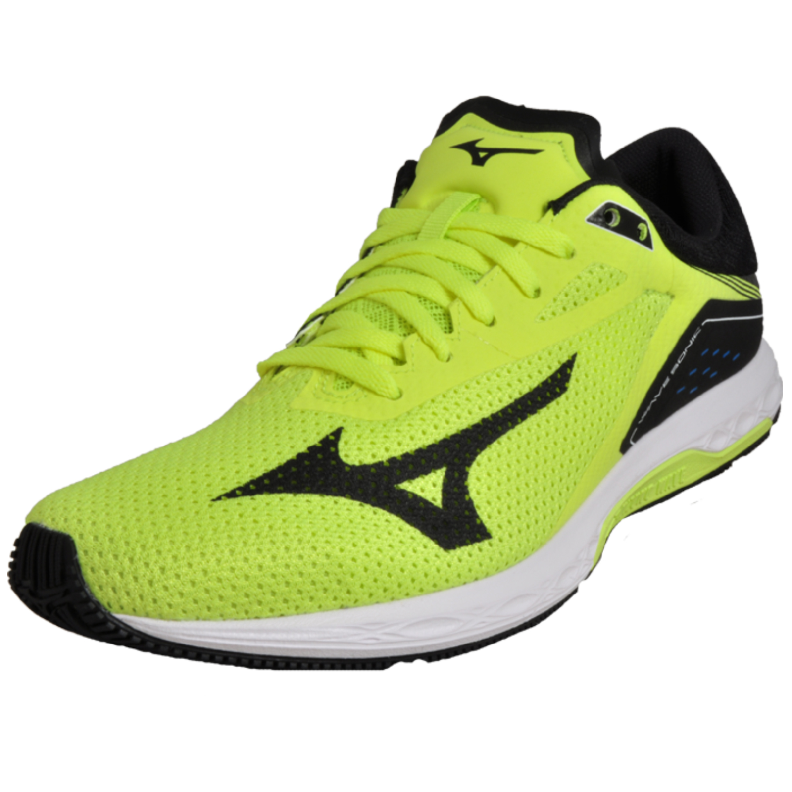 new arrivals 39fbc 37b19 Mizuno Wave Sonic Men s Running Shoes Fitness Gym Workout Trainers Yellow