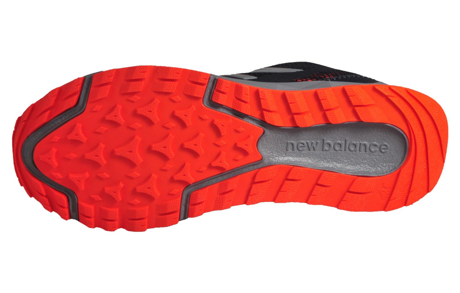 Mt 590 V2 Sendero Zapatillas De Deporte De Los Nuevos Hombres De Balance De Negro / Naranja CeeOWB