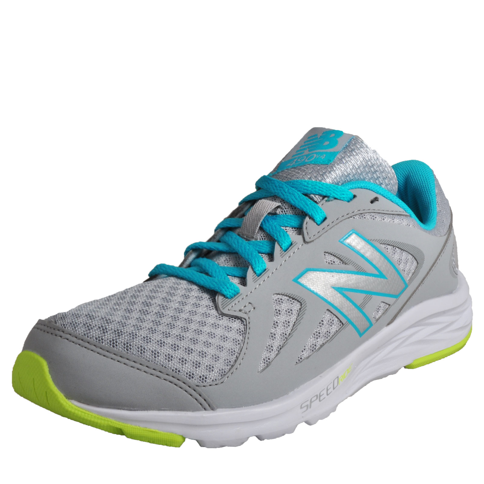 New Balance 490 V4 Womens Running Shoes Fitness Gym Workout Trainers Grey