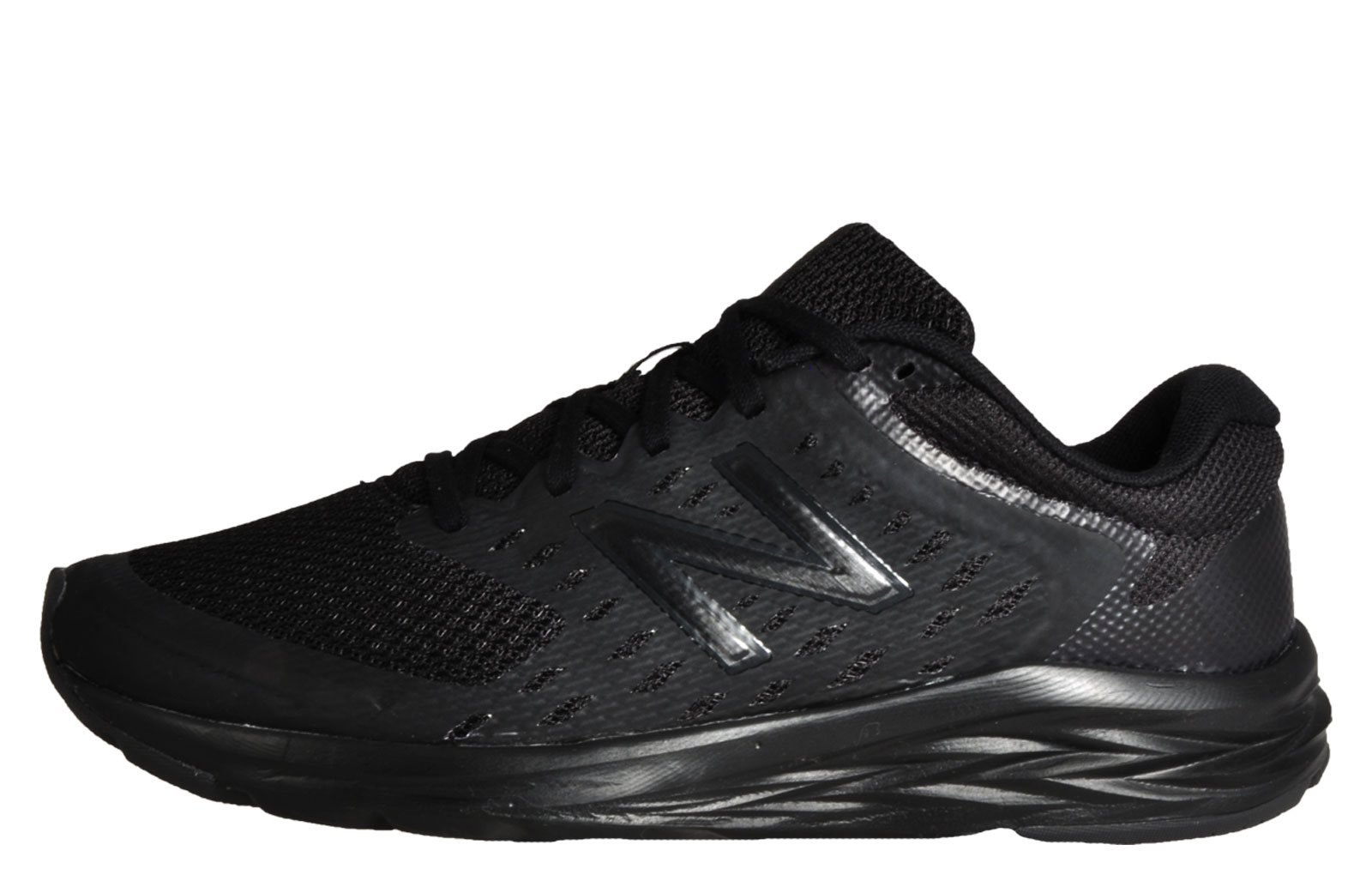 7953f13f2b23d New Balance M490 LK5 Mens Running Shoes Fitness Gym Workout Trainers Black