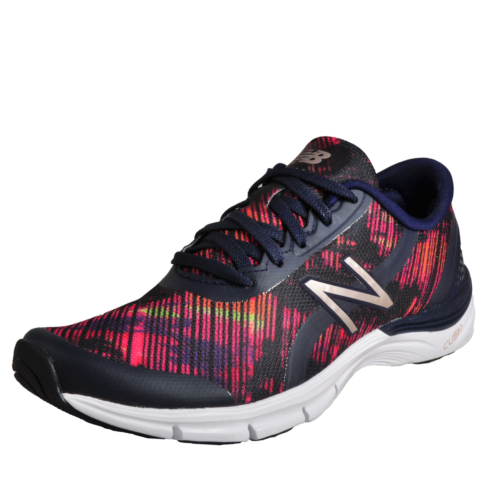 3bc7468b52df Details about New Balance WX 711 Cush+ Womens Running Shoes Fitness Gym  Workout Trainers Navy