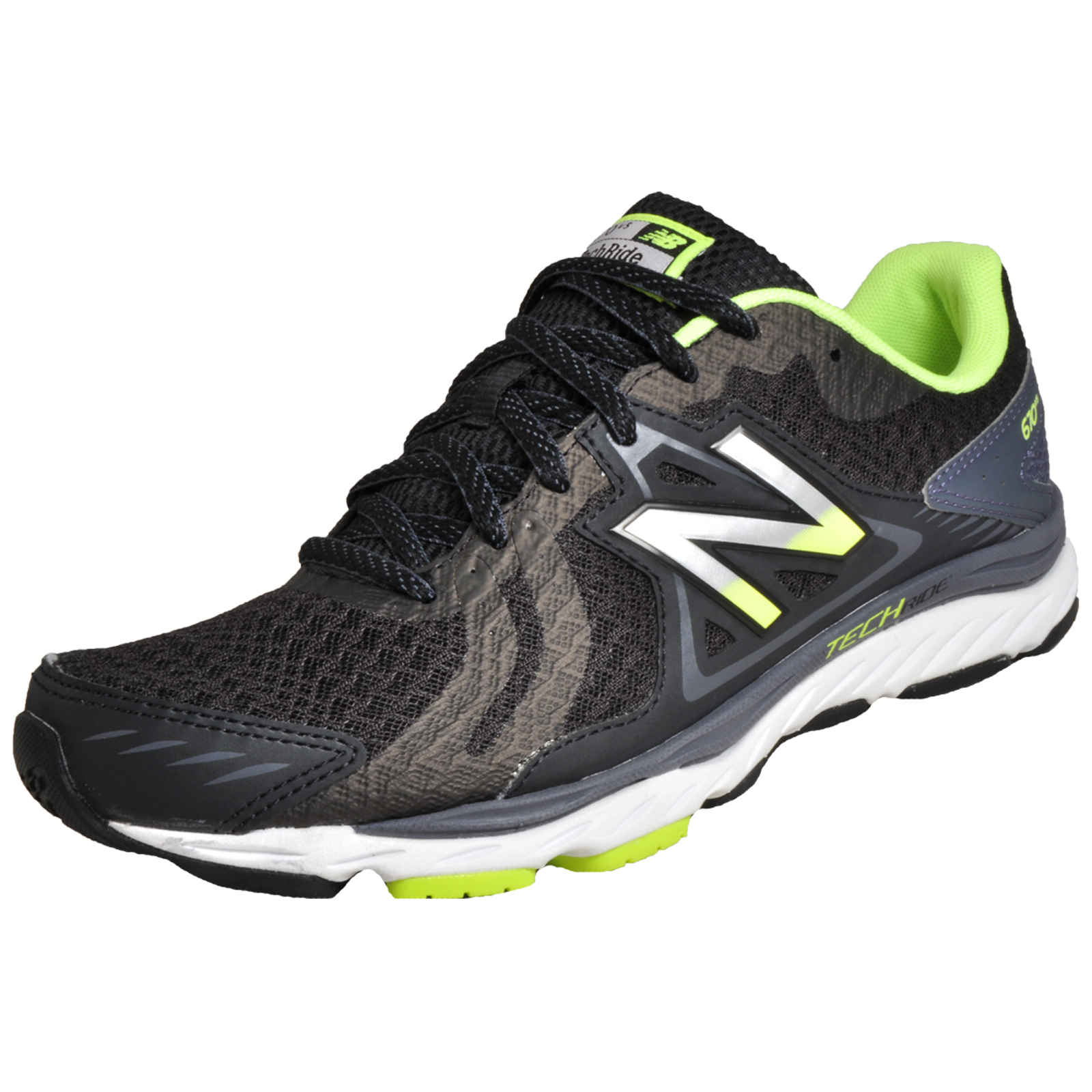 58e84cad9ea068 Details about New Balance 670 v5 Men s Premium Running Shoes Gym Fitness  Trainers Black