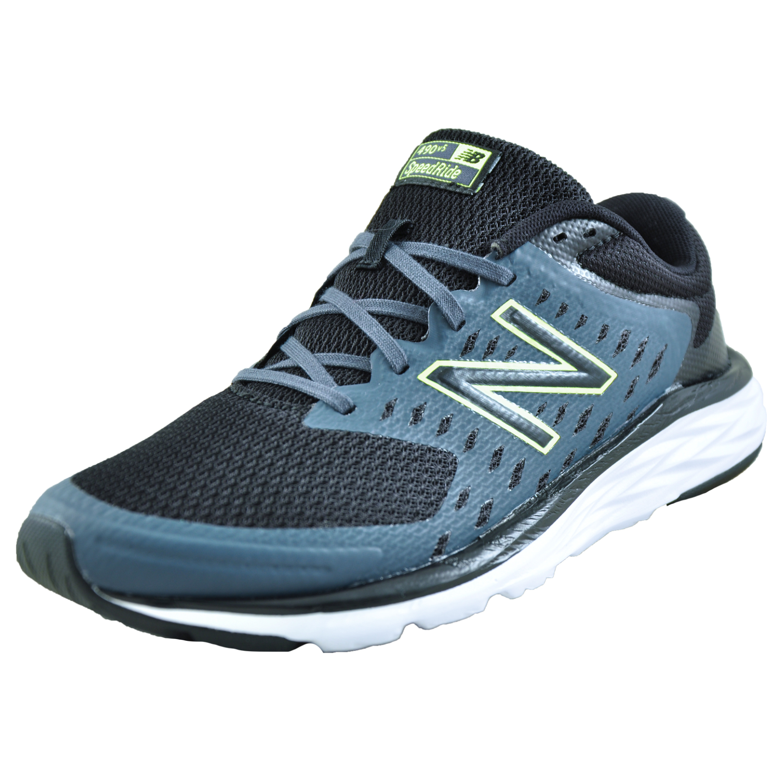 lowest price c72b7 a739d Details about New Balance 490v5 Men's Premium Running Shoes Fitness Gym  Trainers Black