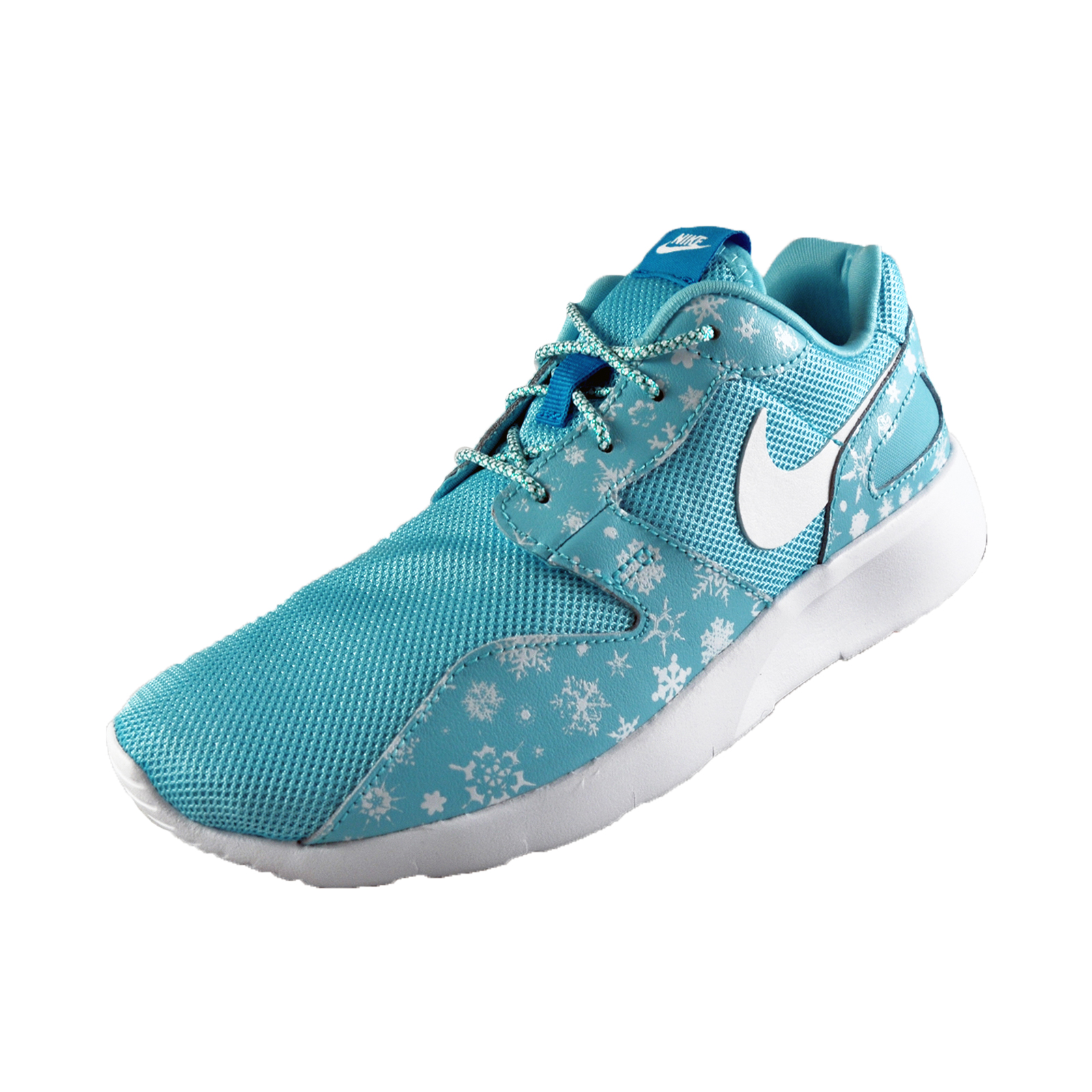 Nike Kaishi Snowflake Print GS Junior Girls Trainers Copa Blue