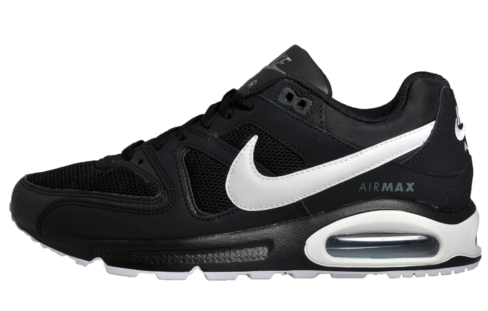 Nike Air Max Command Mens Premium Classic Casual Running Trainers Black