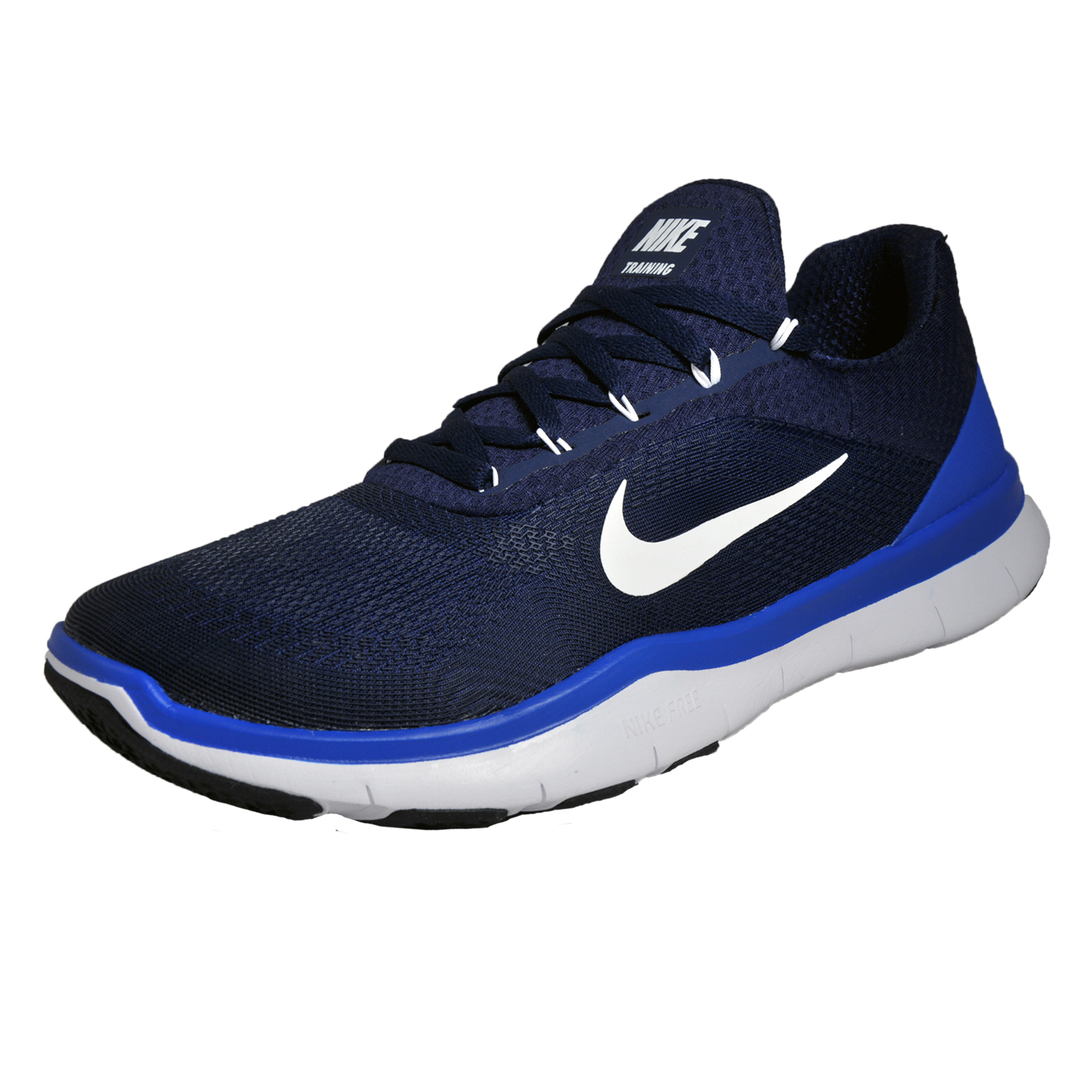 Nike Free Trainer V7 Mens Running Shoes Fitness Gym Trainers Navy