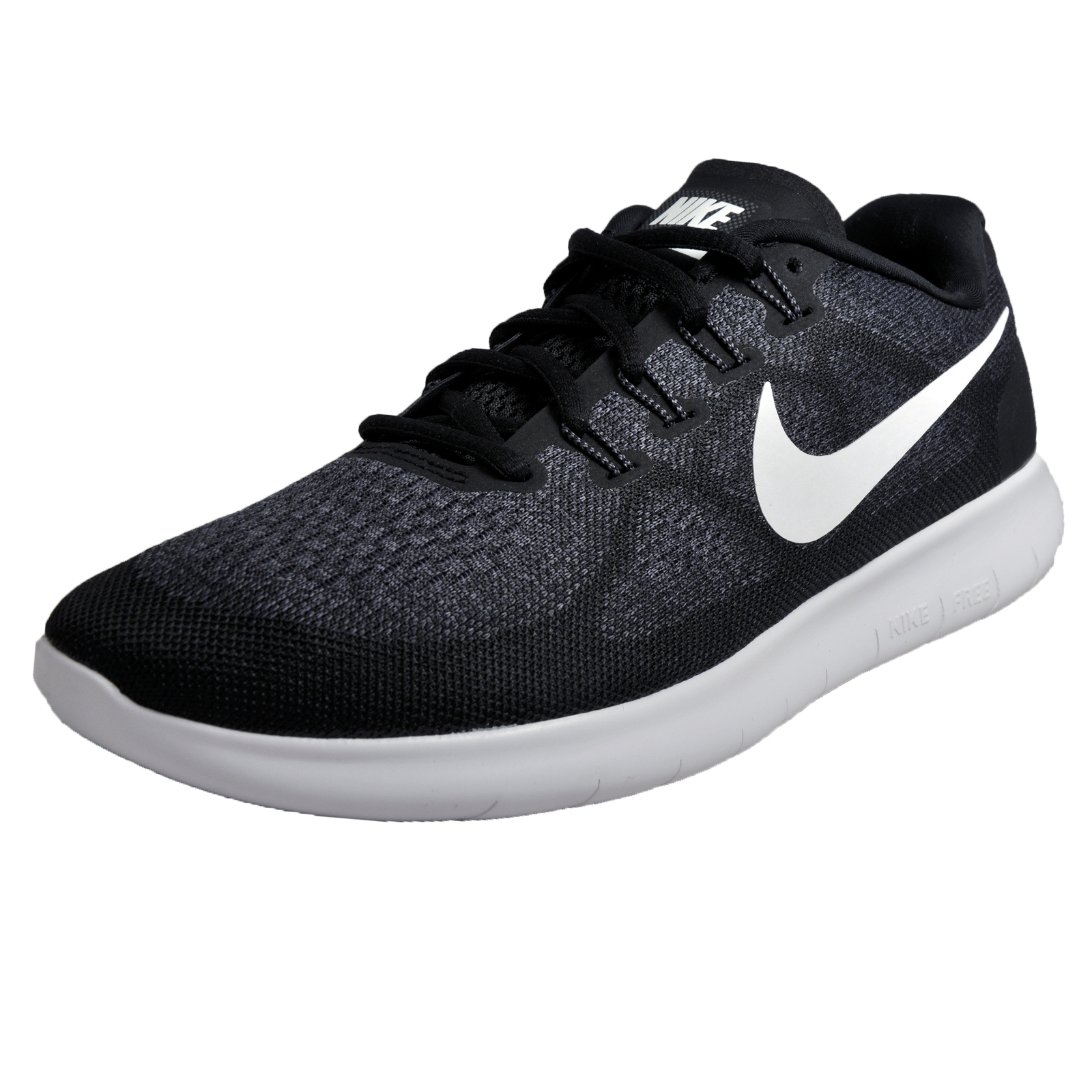 Nike Free RN 2017 Mens Running Shoes Fitness Gym Workout Trainers Black 039dcd9ab73e4