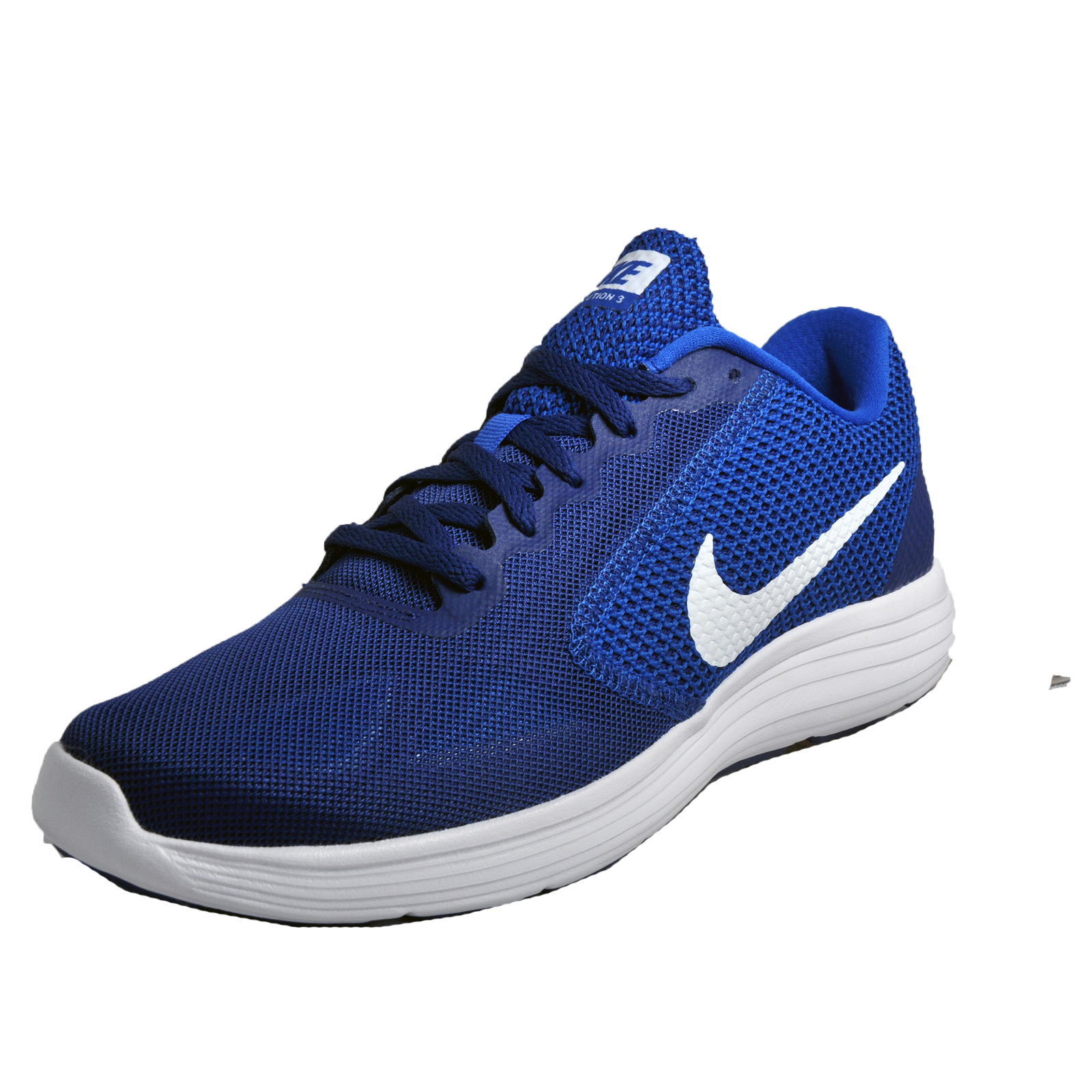 half off f01c0 ff975 Details about Nike Revolution 3 Mens Running Shoes Fitness Gym Trainers Blue