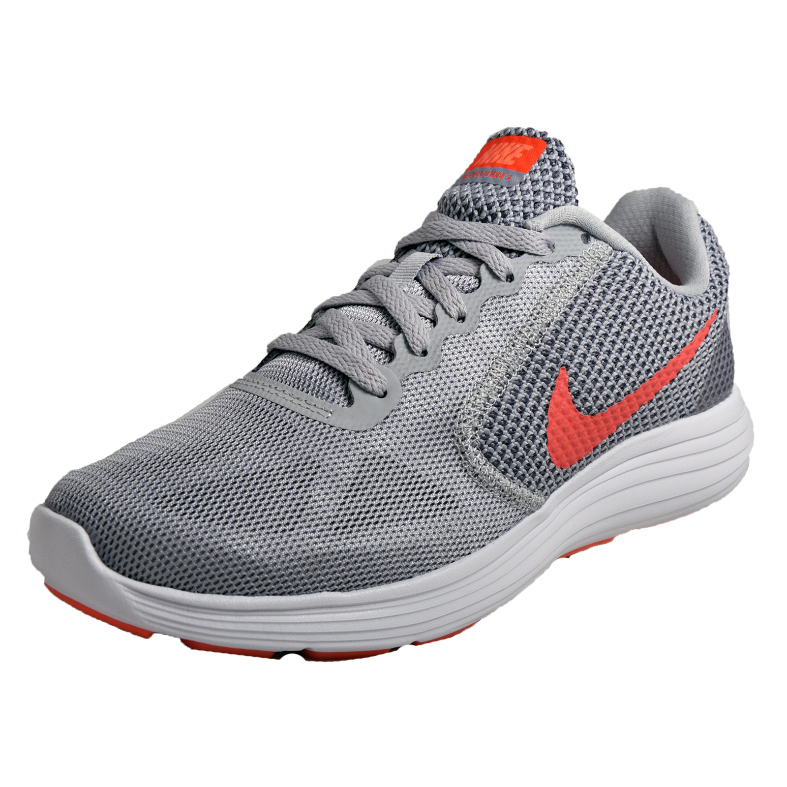 Details about Nike Revolution 3 Womens Running Shoes Fitness Gym Trainers  Grey 2d4c89b30d
