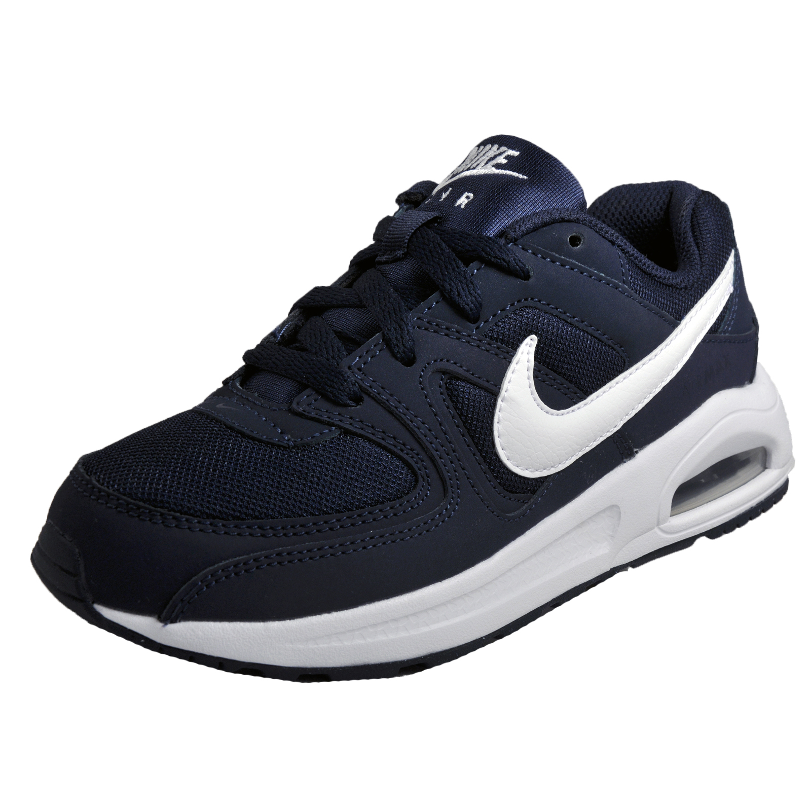ff1dbf35df Details about Nike Air Max Command Flex Junior Kids Classic Casual Retro  Trainers Navy