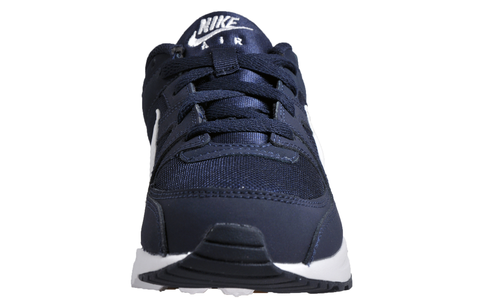 2551f716dd0 Nike Air Max Command Flex Junior Kids Classic Casual Retro Trainers Navy ...