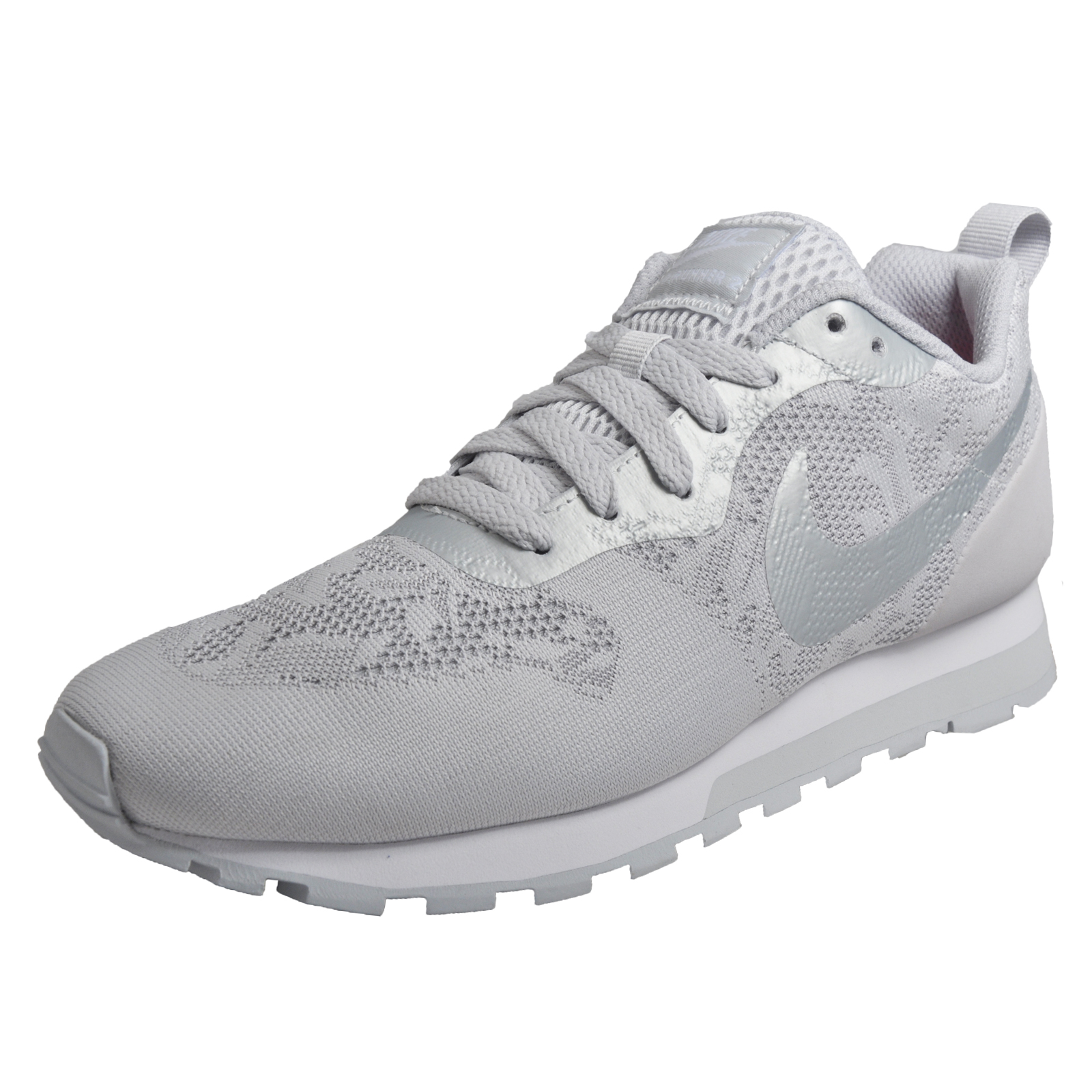 check out 168c9 98942 Details about Nike MD Runner 2 BR Womens Classic Casual Everyday Trainers  Wolf Grey