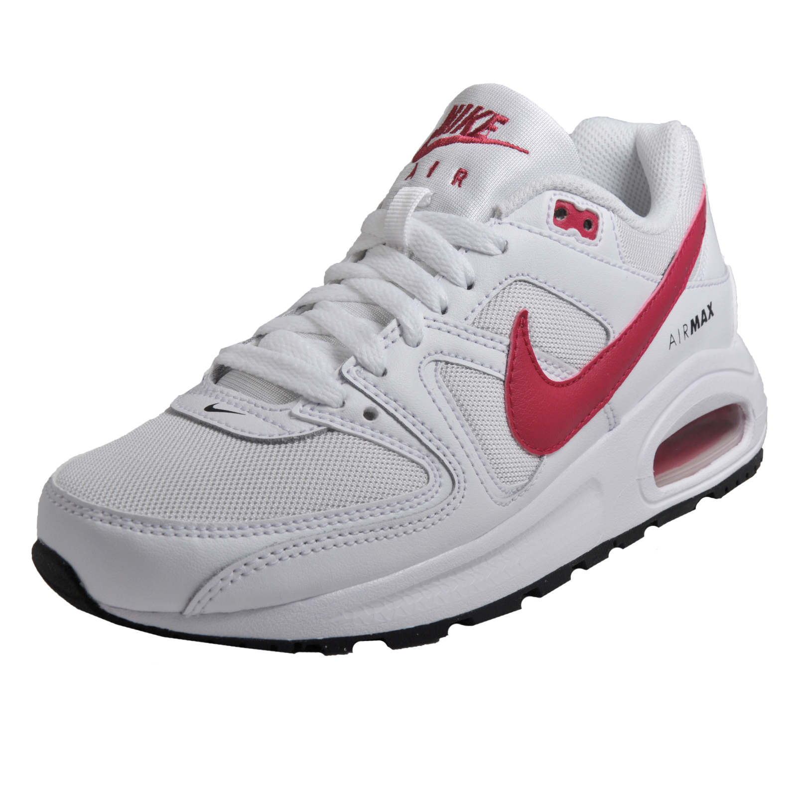 746b92df7e Details about Nike Air Max Command Flex Women's Girls Classic Casual  Leather Trainers White