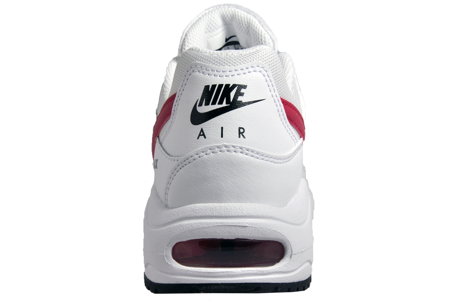 best website 2af9d 4a050 Nike Air Max Command Flex Women s Girls Classic Casual Leather Trainers  White