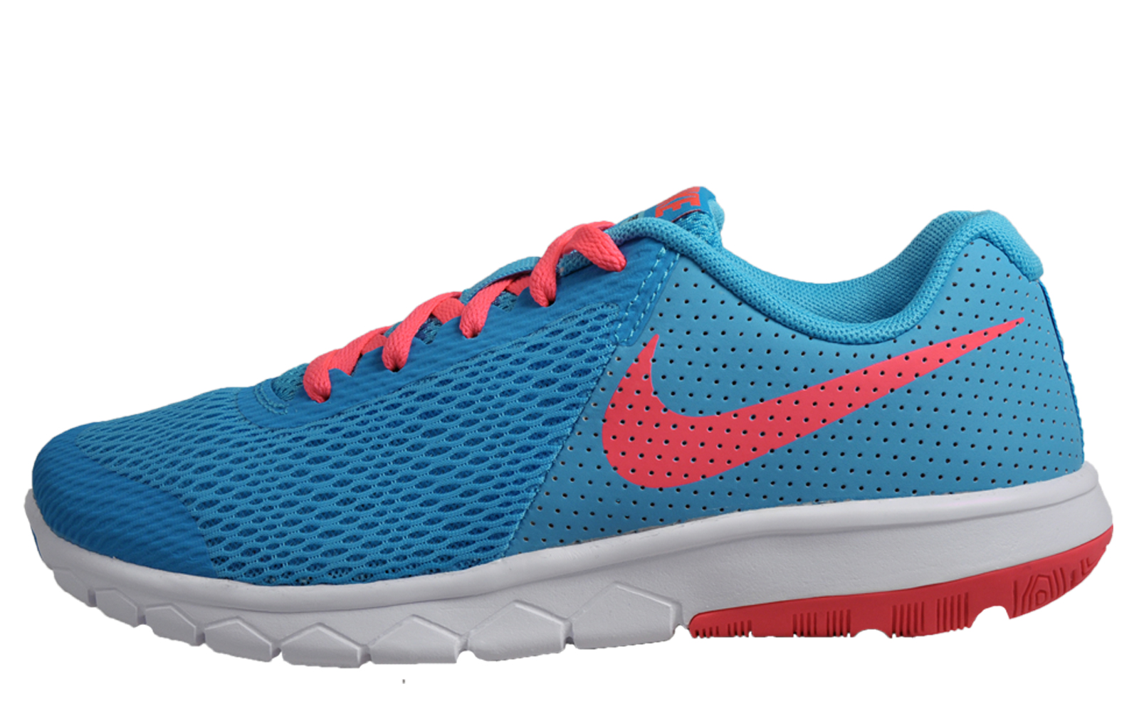 2caf7a8d74f0 Nike Flex Experience 5 Womens Girls Running Shoes Fitness Gym Trainers Blue