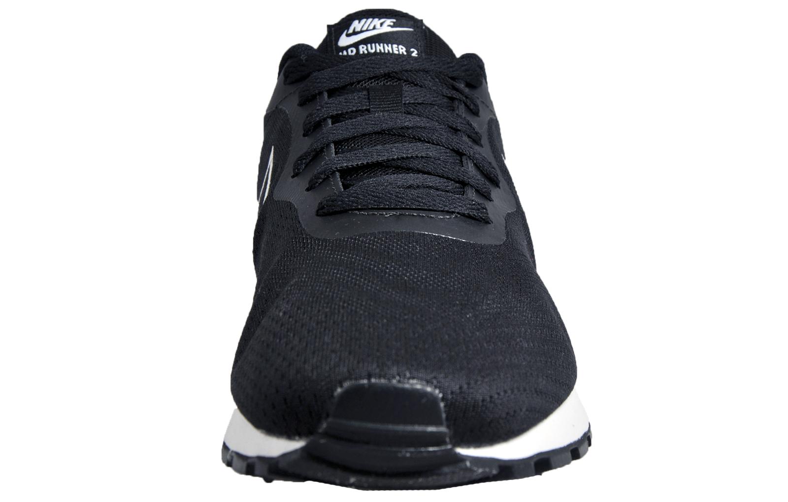 ffde9da59e Nike MD Runner 2 Eng Mesh Mens Classic Casual Retro Trainers Black ...