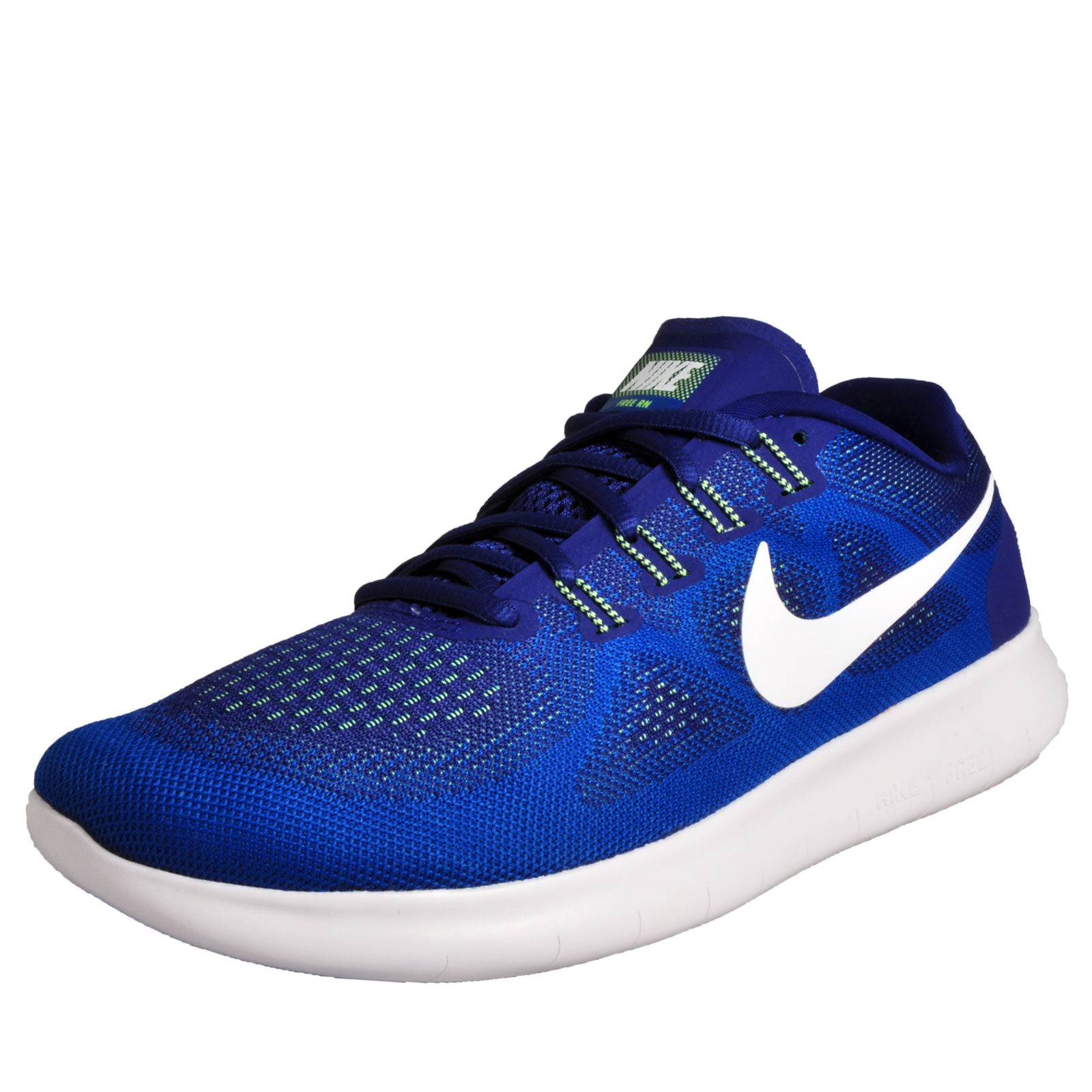 4e5175e9ec9940 ... get nike free rn mens premium running shoes fitness gym trainers blue  0e873 a557b ...