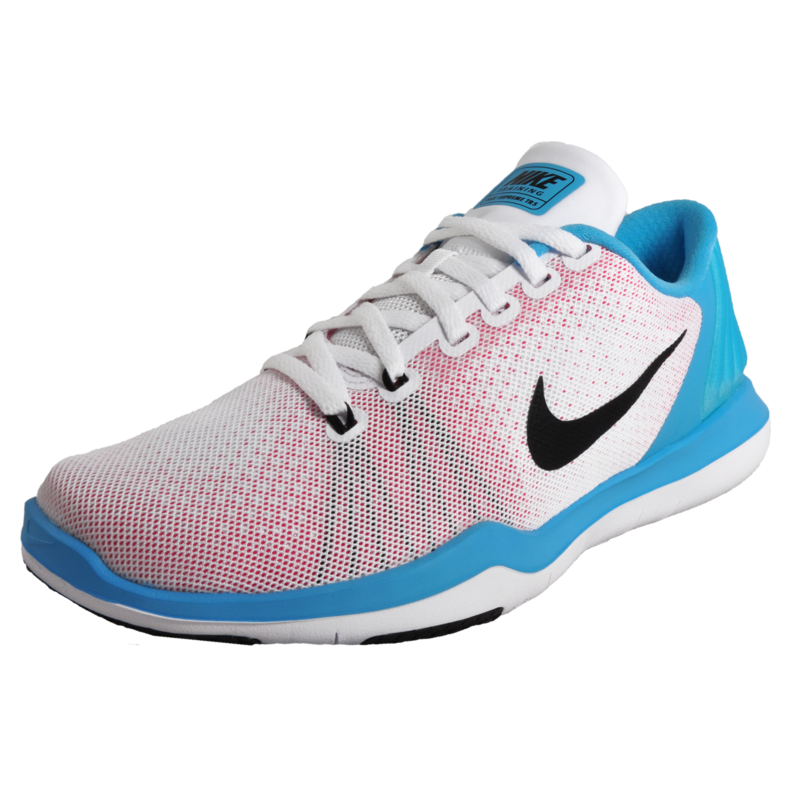 0ef3cbfa980d Details about Nike Flex Supreme TR 5 Womens Running Fitness Gym Trainers  White UK 5.5 Only