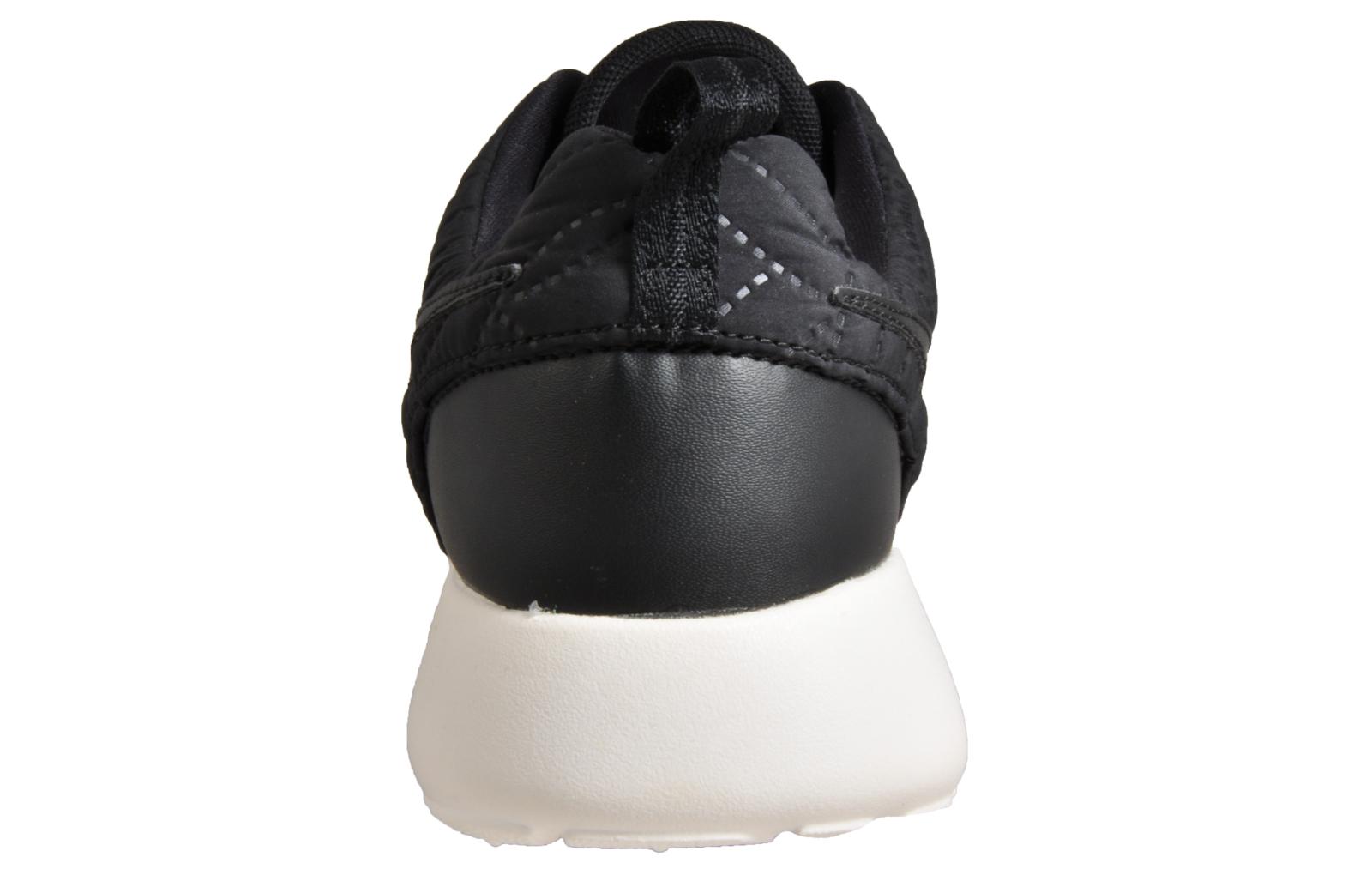 df485d1b3e Nike Roshe One Premium Womens Shoes Casual Gym Fashion Trainers Black