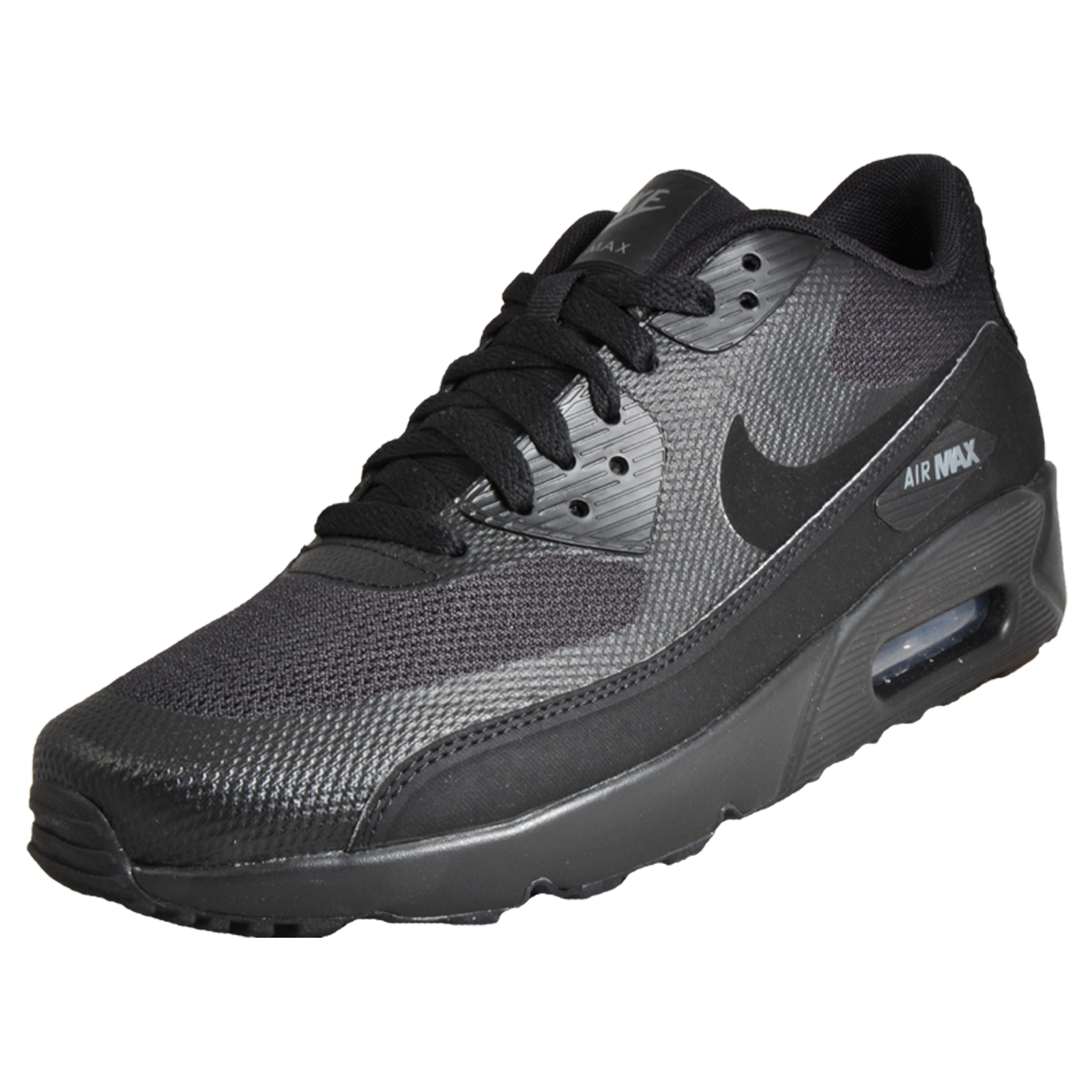 sale retailer a5ec4 49f32 Nike Air Max 90 Ultra 2 Essential Men s Classic Casual Retro Trainers Black