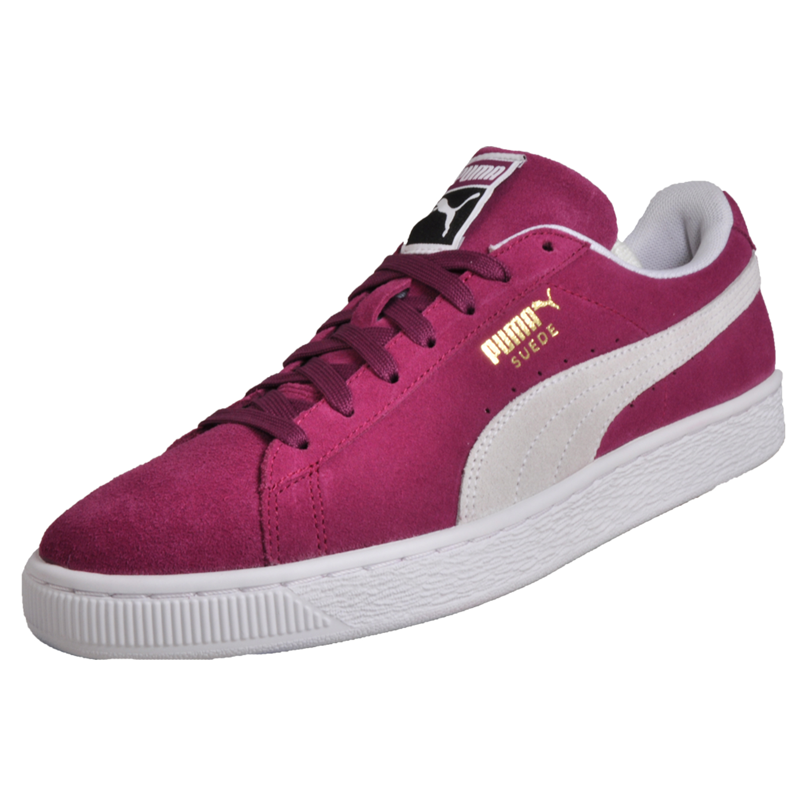 dce539f6c59 Details about Puma Suede Leather Men s Lifestyle Classic Casual Vintage  Retro Sneakers Trainer
