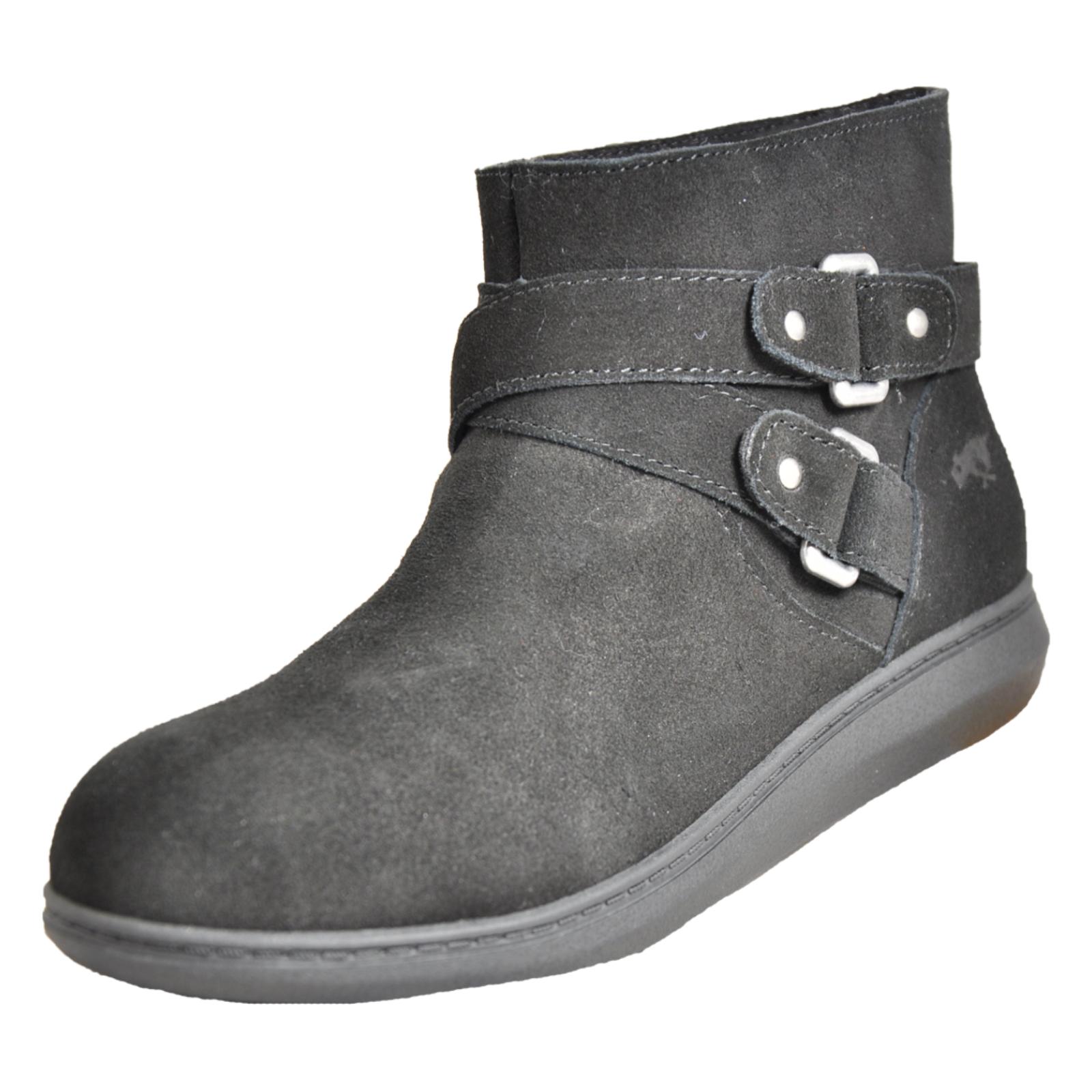 7180618c9fb47 Rocket Dog Manilla Women s Classic Formal Ankle Buckle Fashion Boot Black