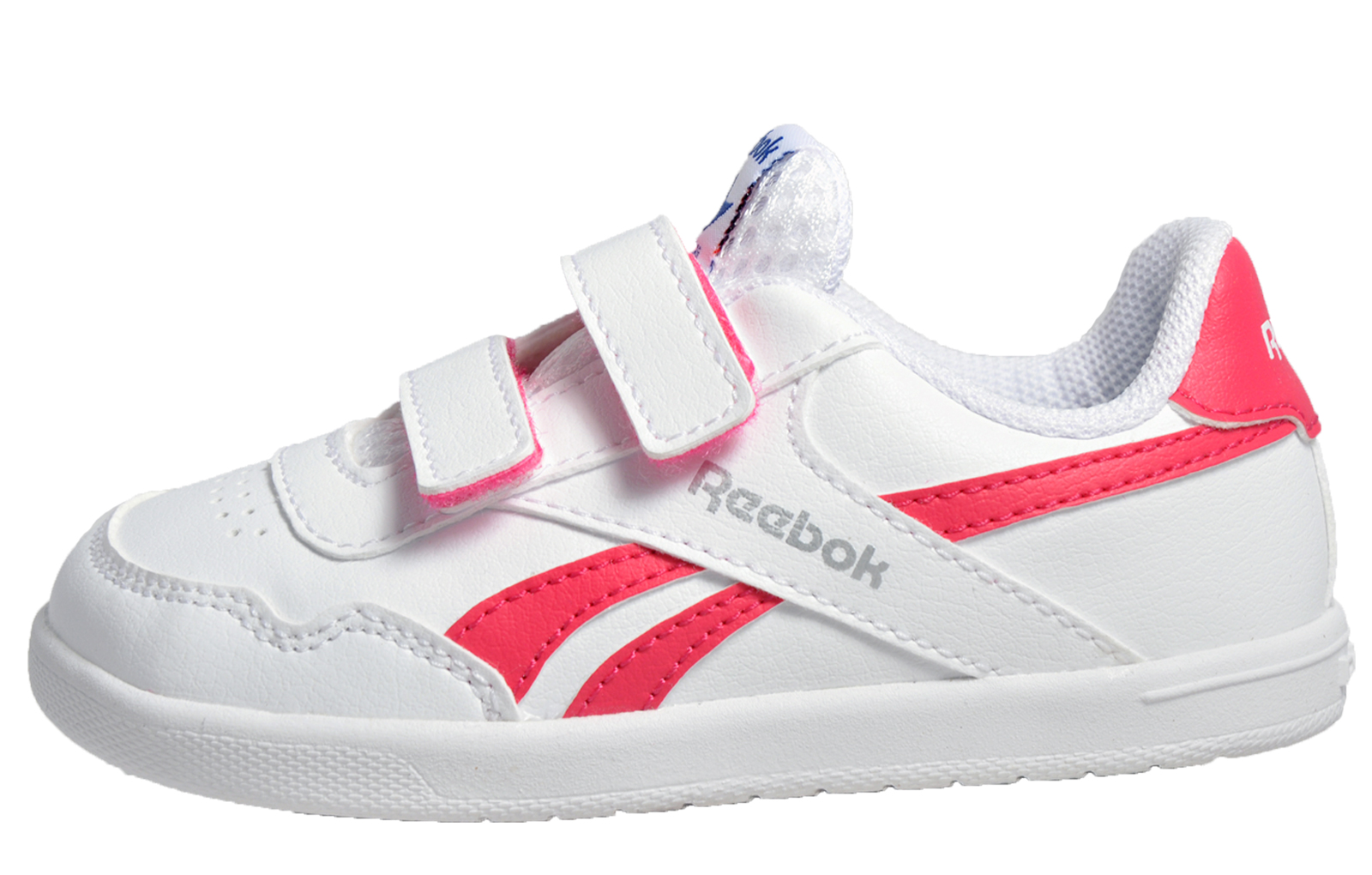 buy popular c1bf0 3f798 Reebok Royal Effect Alt Infants Toddlers Girls Trainers White Pink