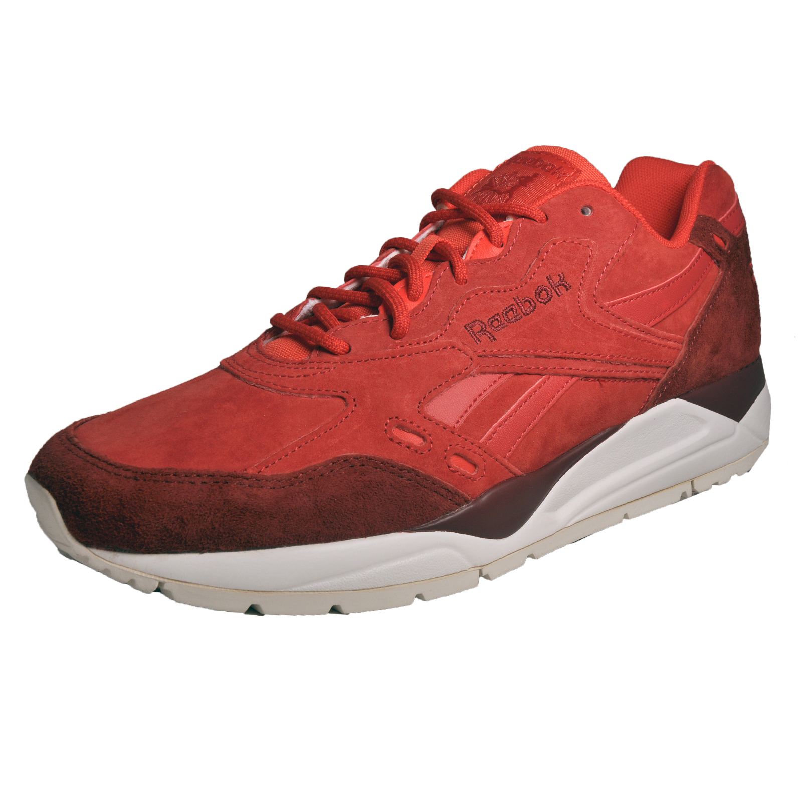 359d05006fba0f Details about Reebok Classic Bolton CP Mens Iconic Classic Casual Retro  Trainers Red LTD Editi