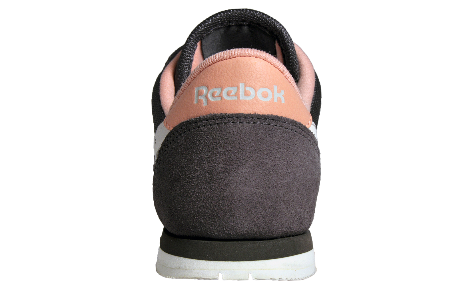 f0c4a3404c5 Reebok Classic Nylon Slim Core Women s Casual Retro Trainers Grey